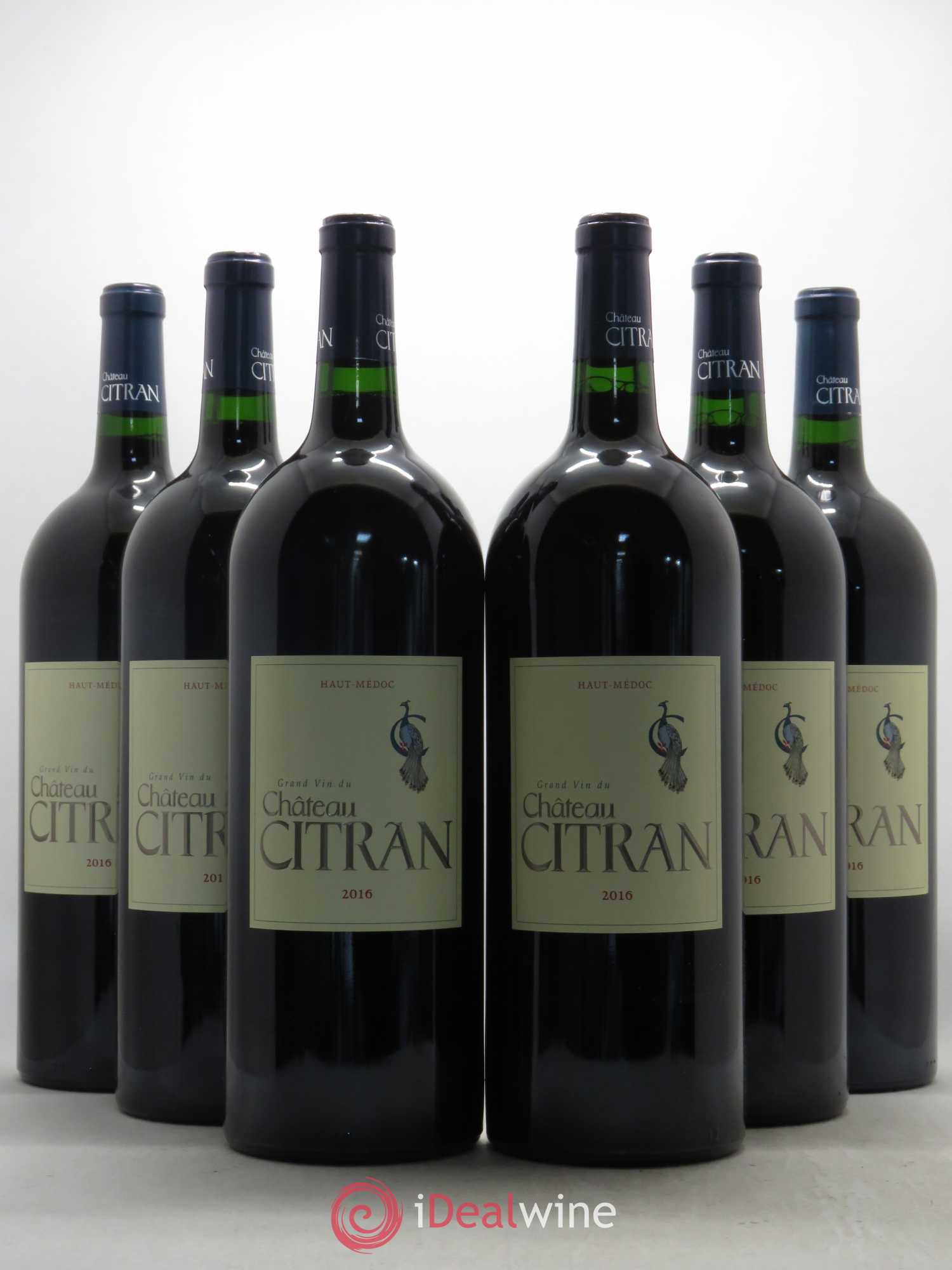 Château Citran Cru Bourgeois  2016 - Lot of 6 Magnums