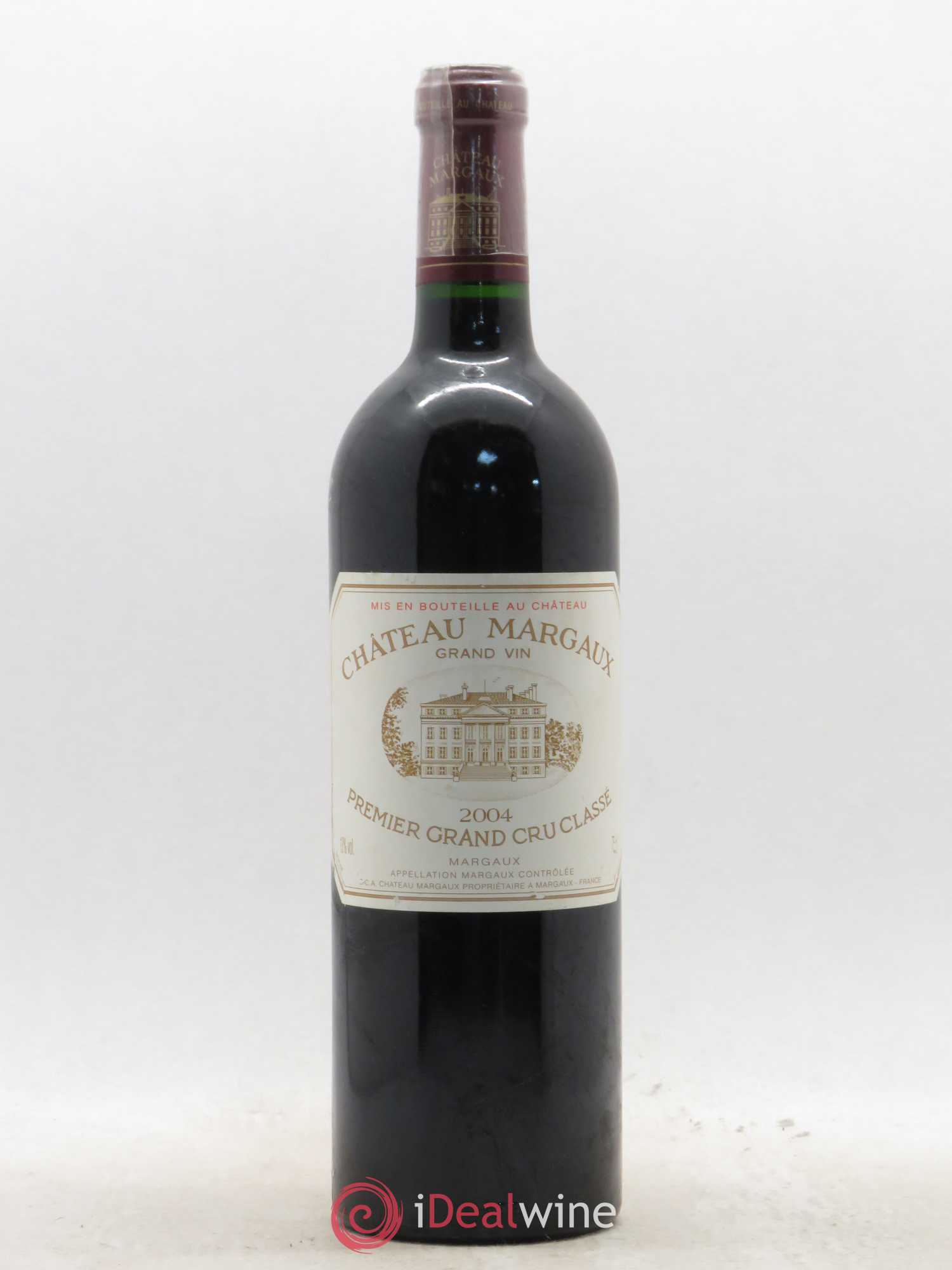Château Margaux 1er Grand Cru Classé  2004 - Lot of 1 Bottle