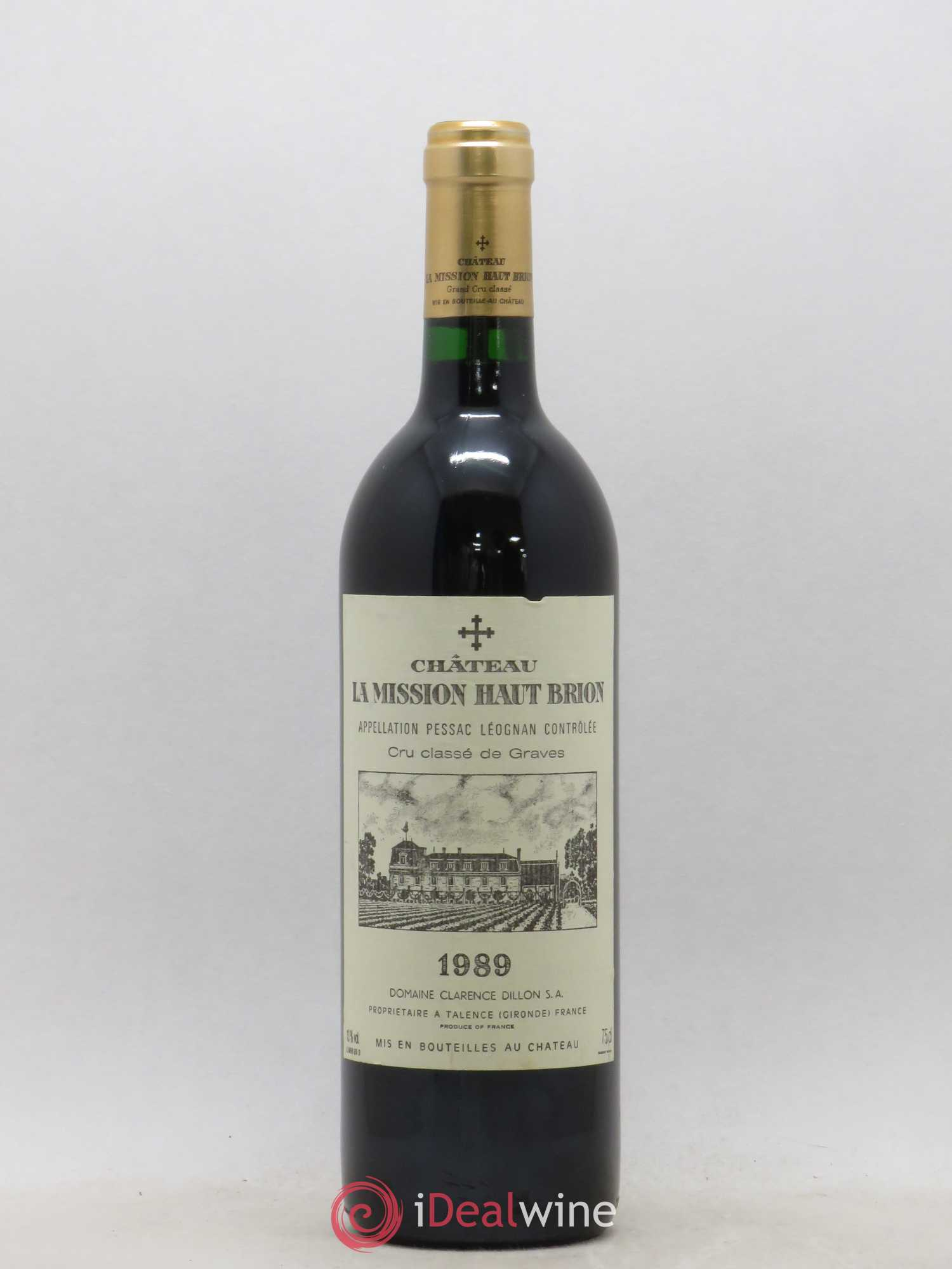 Château La Mission Haut-Brion Cru Classé de Graves  1989 - Lot of 1 Bottle