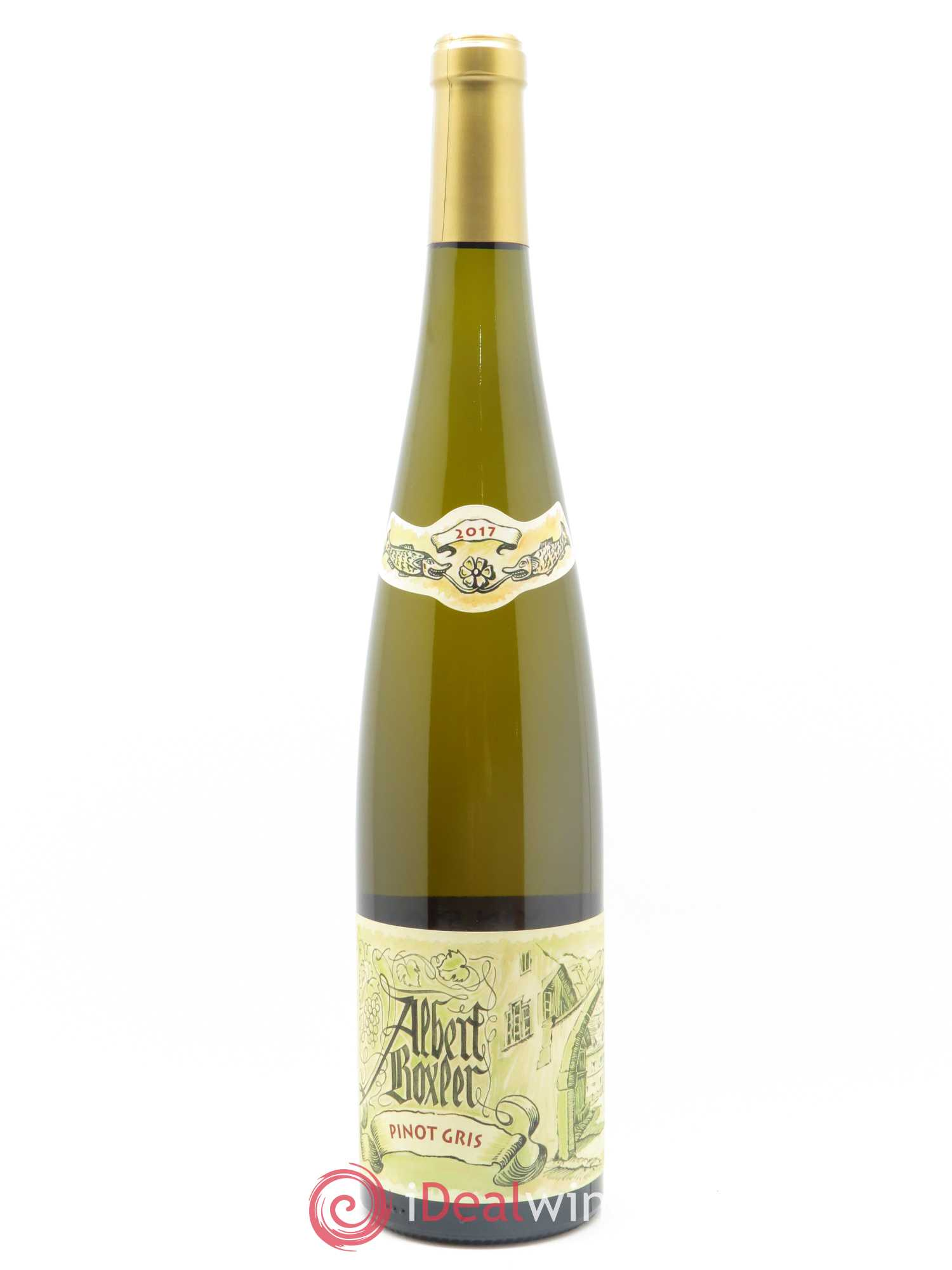 Pinot Gris Albert Boxler  2017 - Lot of 1 Bottle