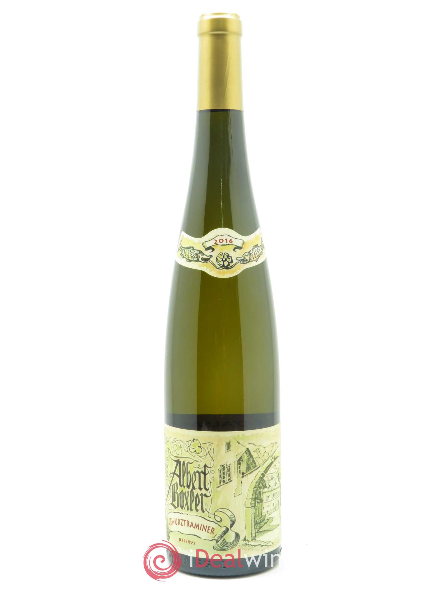 Gewurtraminer Réserve Albert Boxler  2016 - Lot of 1 Bottle