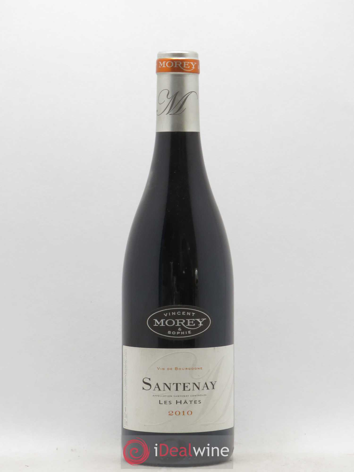 Santenay Les Hates Vincent Morey 2010 - Lot of 1 Bottle