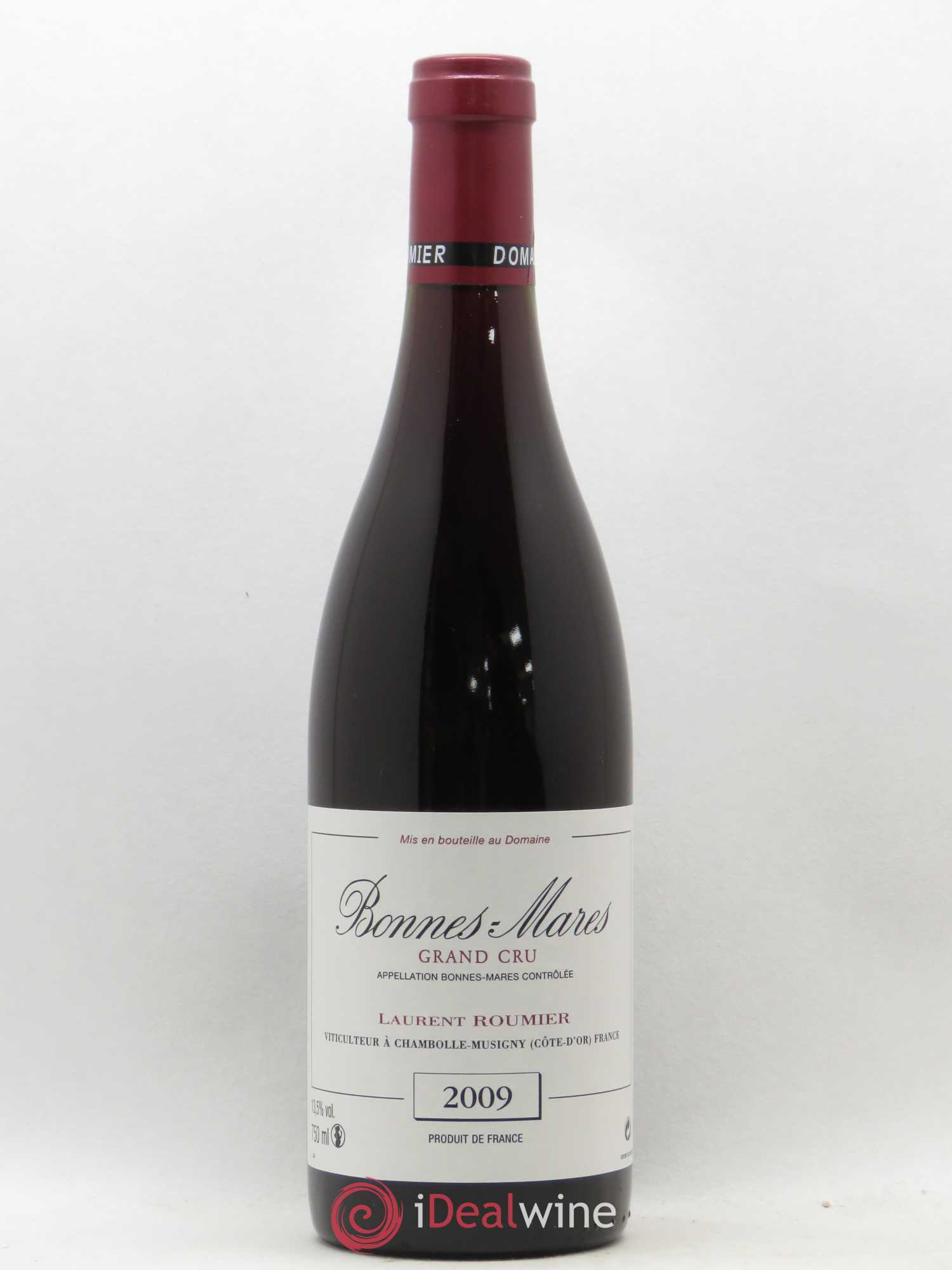 Bonnes-Mares Grand Cru Laurent Roumier  2009 - Lot of 1 Bottle