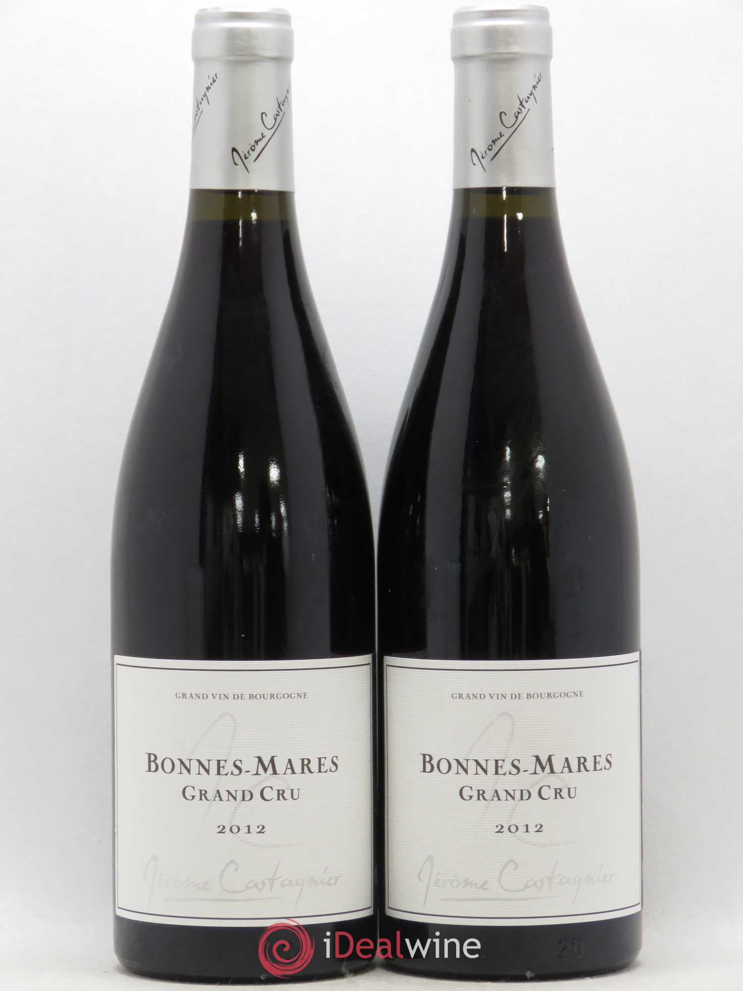Bonnes-Mares Grand Cru Domaine Jerome Castagnier 2012 - Lot of 2 Bottles