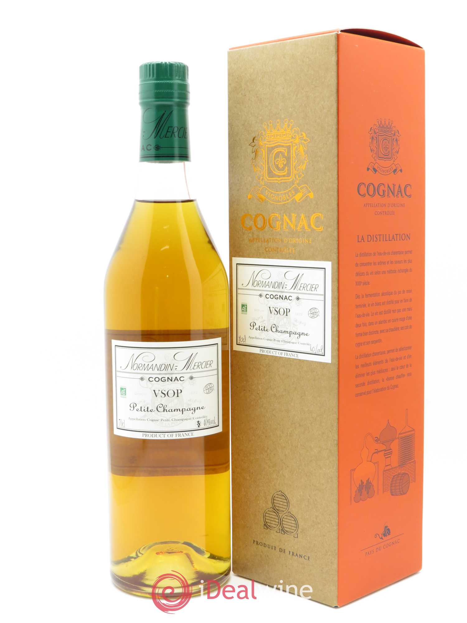Cognac V.S.O.P Normandin-Mercier (70cl)  - Lot of 1 Bottle