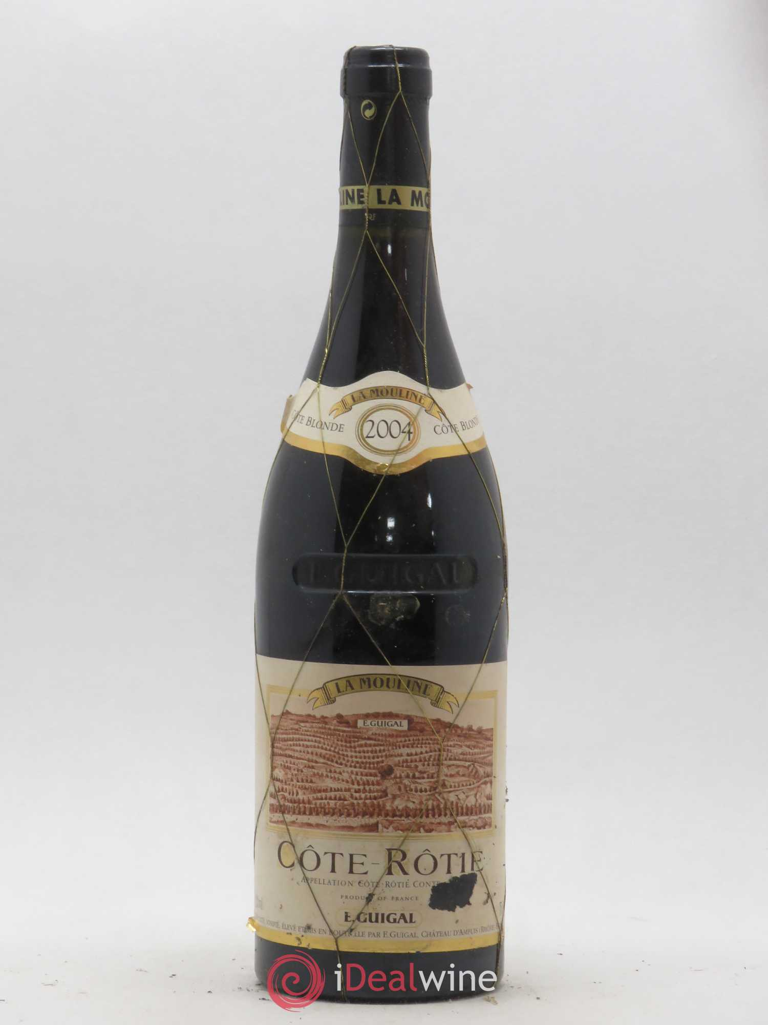 Côte-Rôtie La Mouline Guigal  2004 - Lot of 1 Bottle