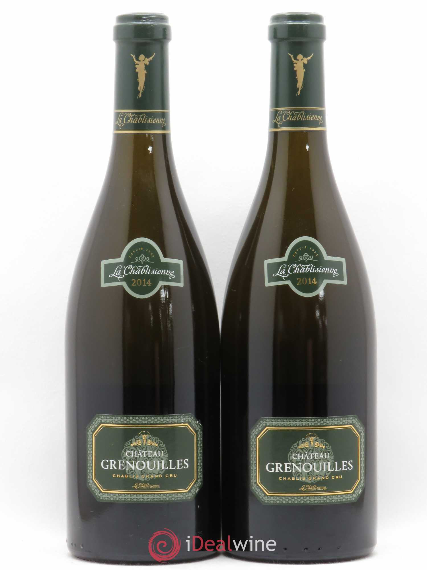 Chablis Grand Cru Grenouilles La Chablisienne  2014 - Lot of 2 Bottles