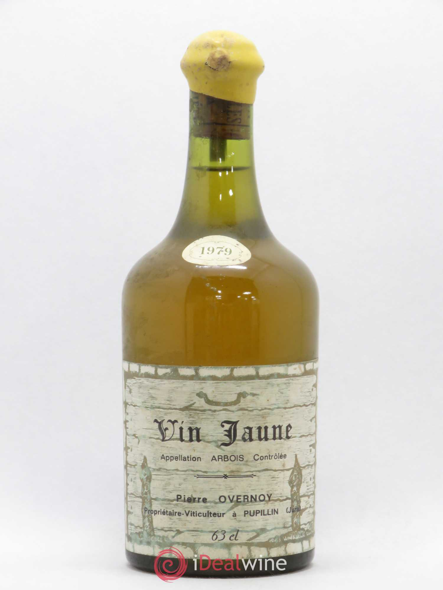 Arbois Pupillin Vin jaune Pierre Overnoy (Domaine)  1979 - Lot of 1 Bottle