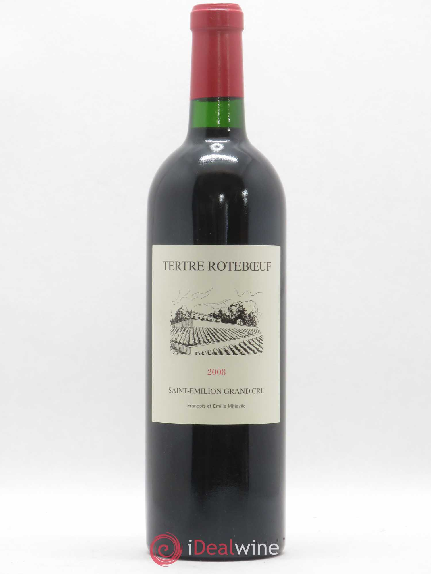 Château Tertre Roteboeuf  2008 - Lot of 1 Bottle