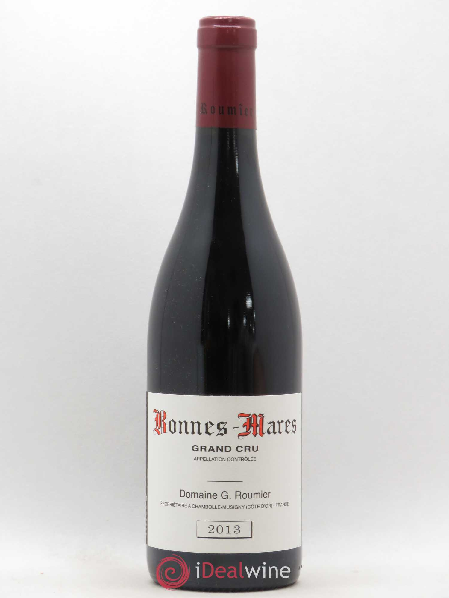 Bonnes-Mares Grand Cru Georges Roumier (Domaine)  2013 - Lot of 1 Bottle