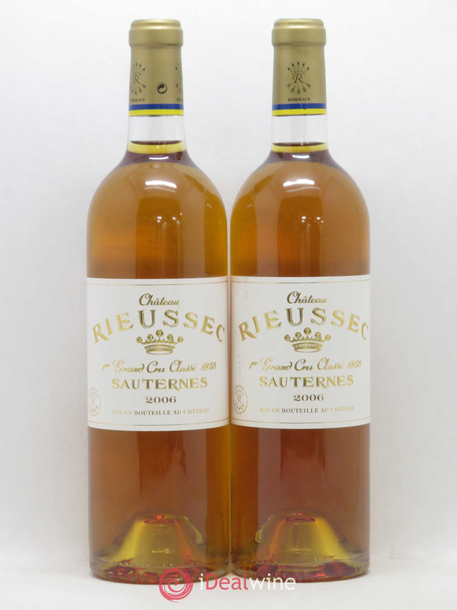 Château Rieussec 1er Grand Cru Classé  2006 - Lot of 2 Bottles
