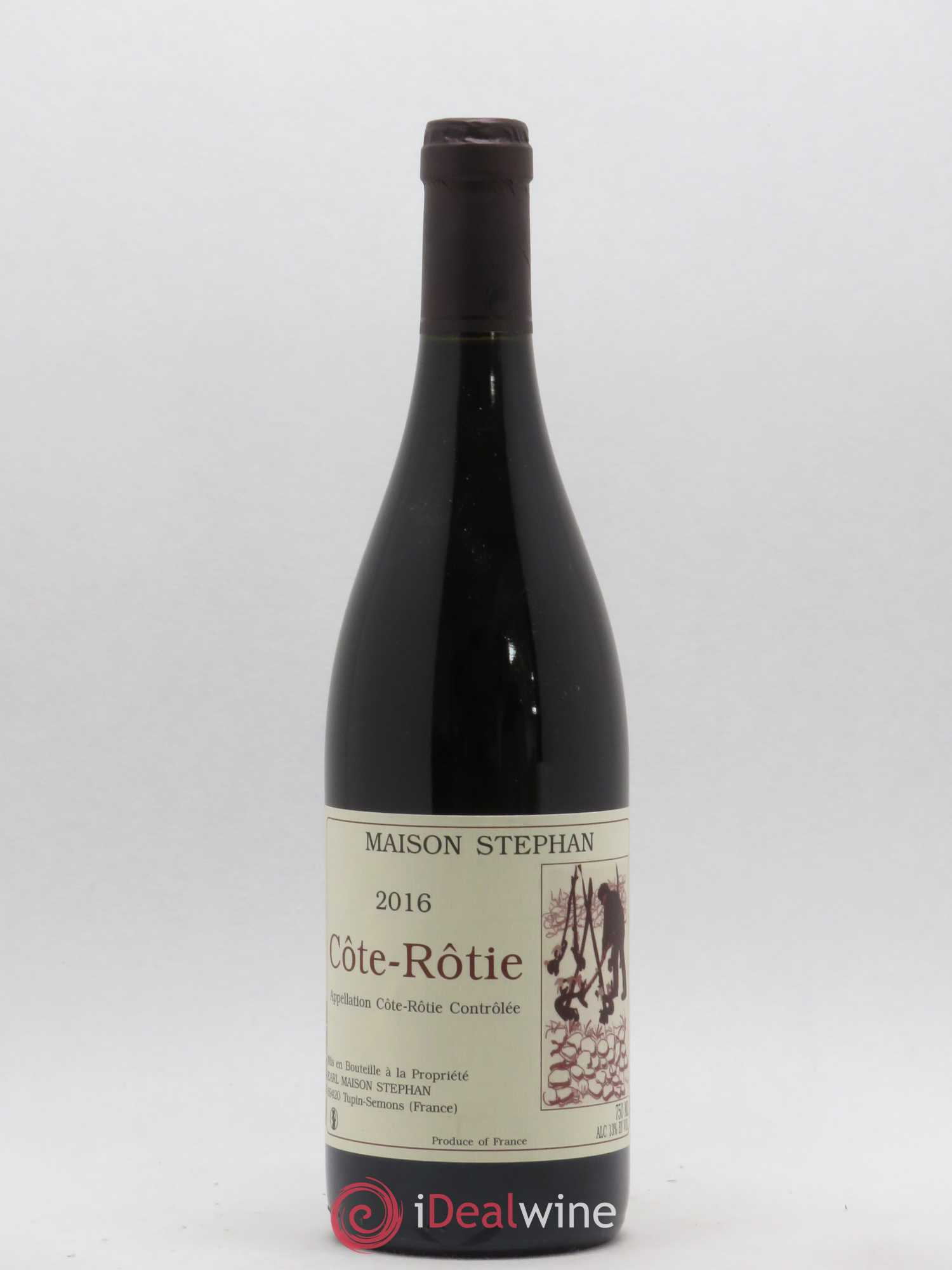 Côte-Rôtie Jean-Michel Stephan  2016 - Lot of 1 Bottle
