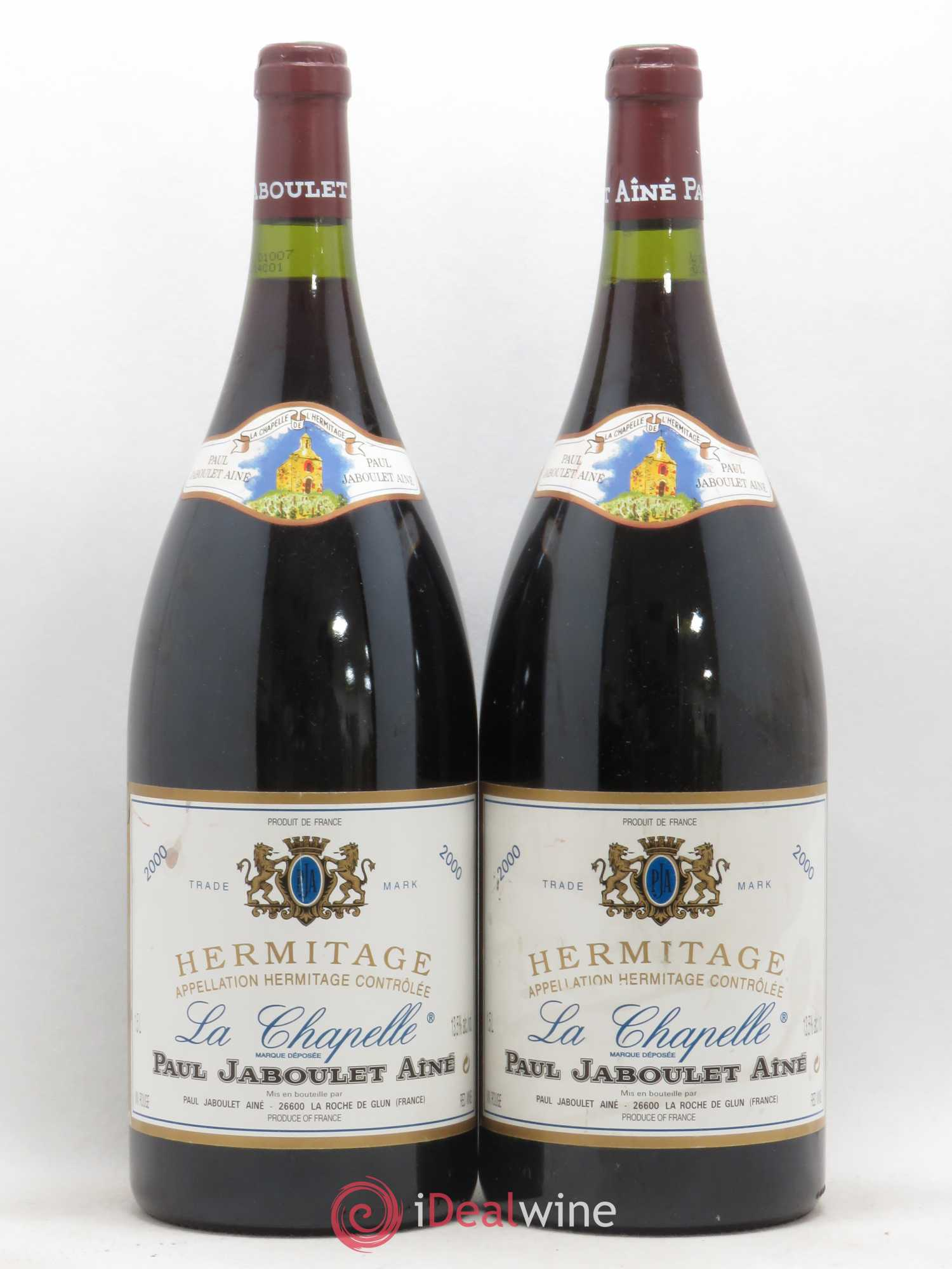 Hermitage La Chapelle Paul Jaboulet Aîné (no reserve) 2000 - Lot of 2 Magnums