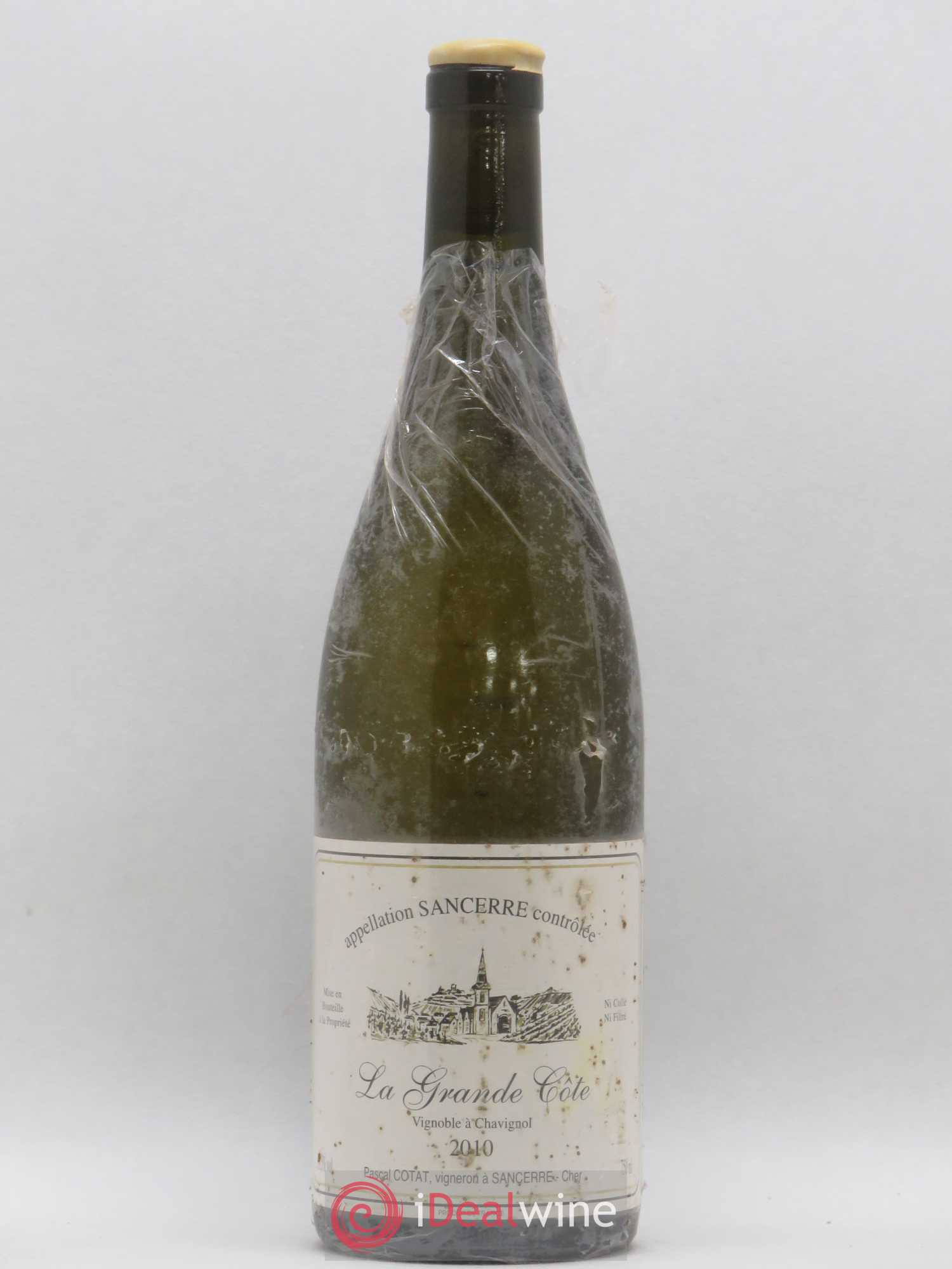Sancerre La Grande Côte Pascal Cotat (no reserve) 2010 - Lot of 1 Bottle