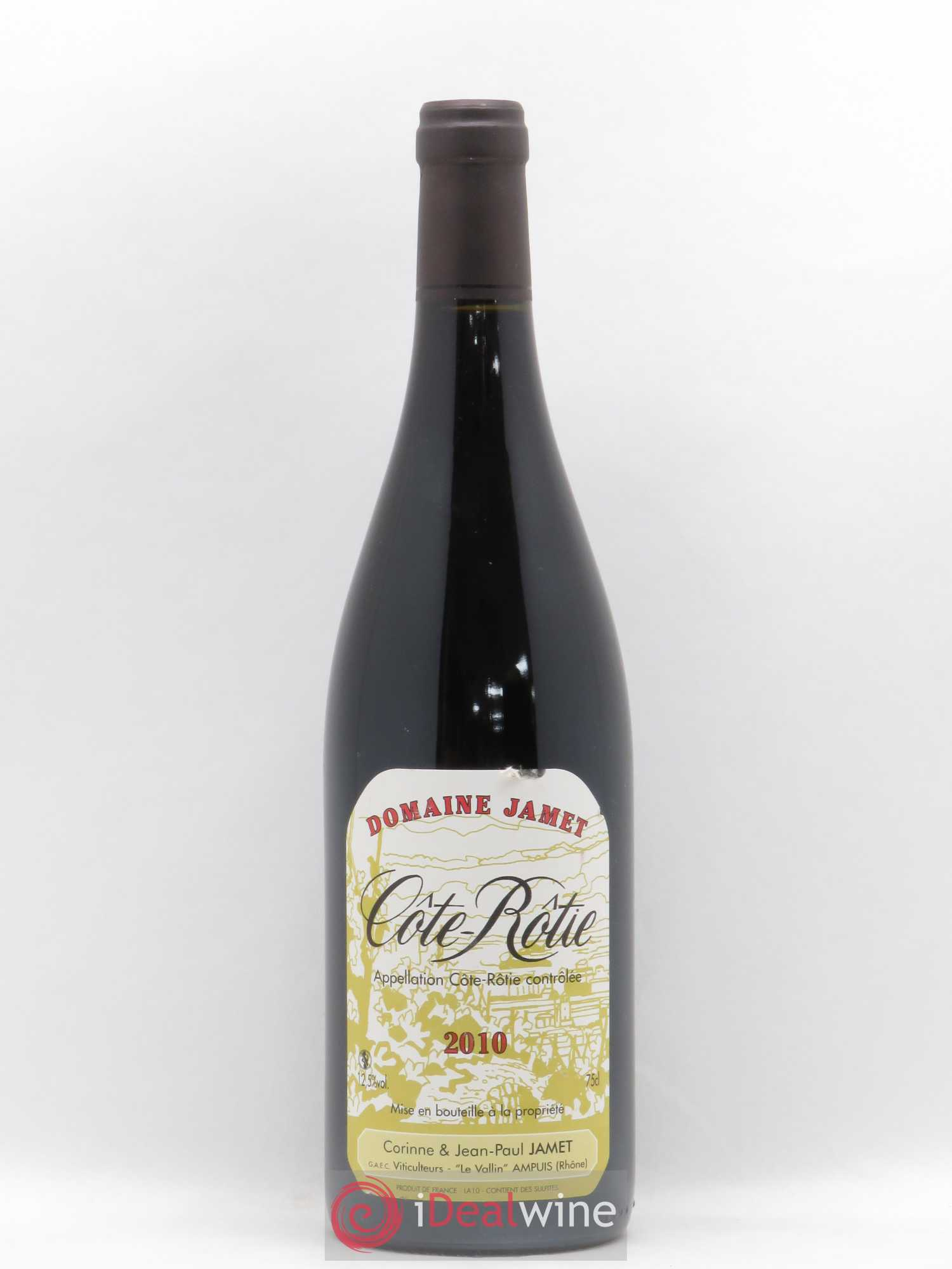 Côte-Rôtie Jamet (Domaine) (no reserve) 2010 - Lot of 1 Bottle