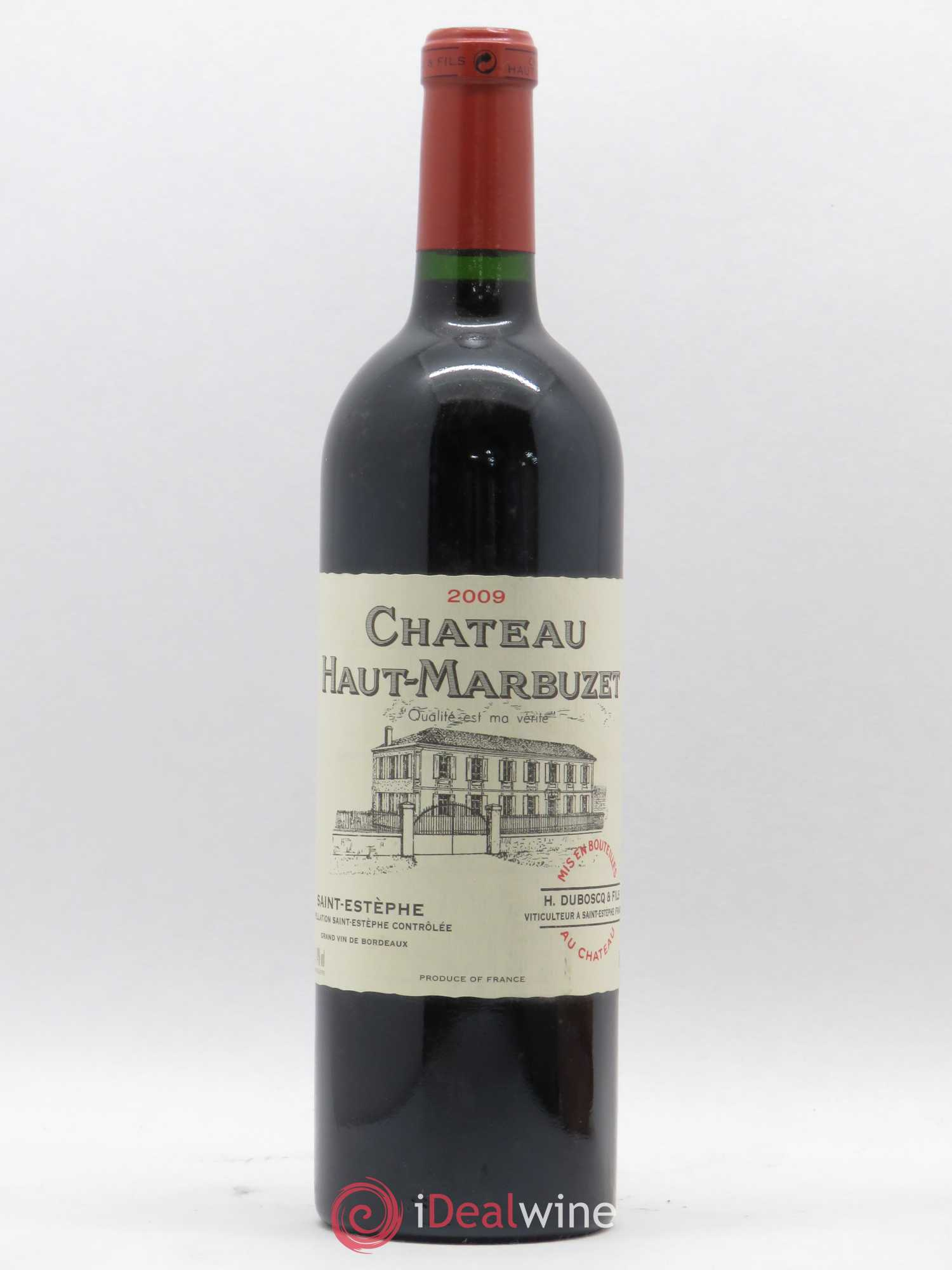 Château Haut Marbuzet (no reserve) 2009 - Lot of 1 Bottle