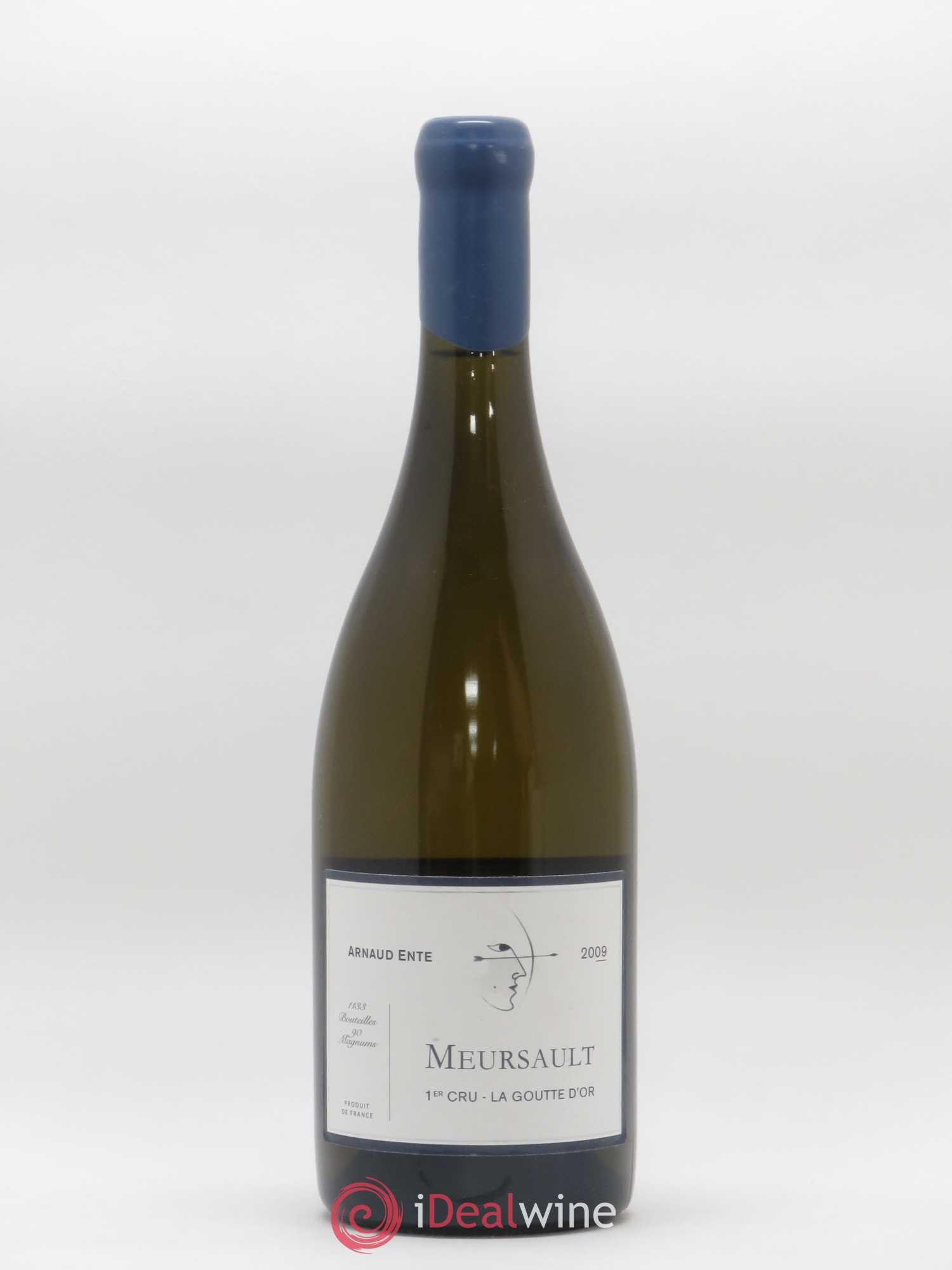 Meursault 1er Cru Goutte d'Or Arnaud Ente (Domaine)  2009 - Lot of 1 Bottle
