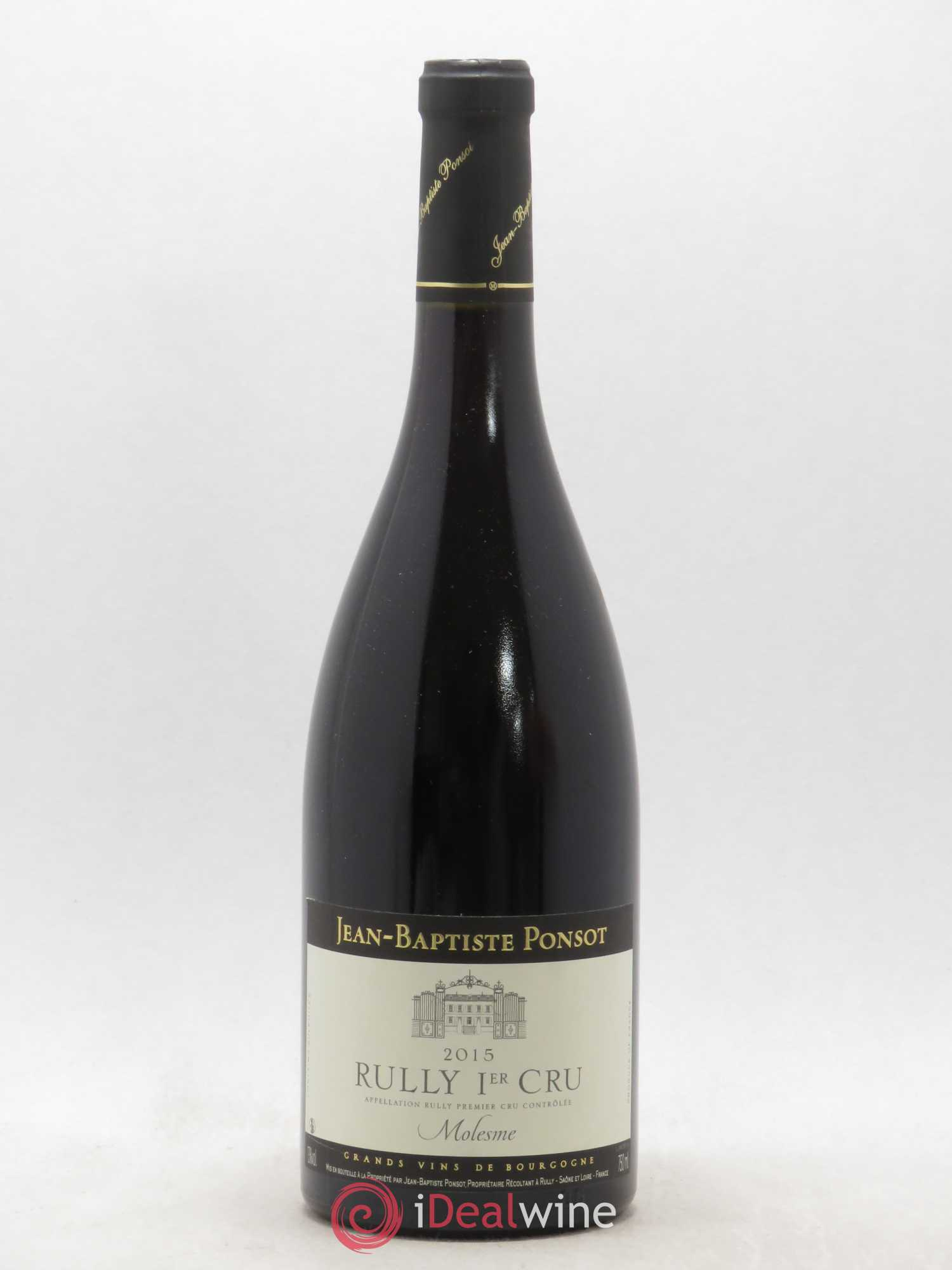 Rully 1er Cru Molesme Jean-Baptiste Ponsot  2015 - Lot of 1 Bottle