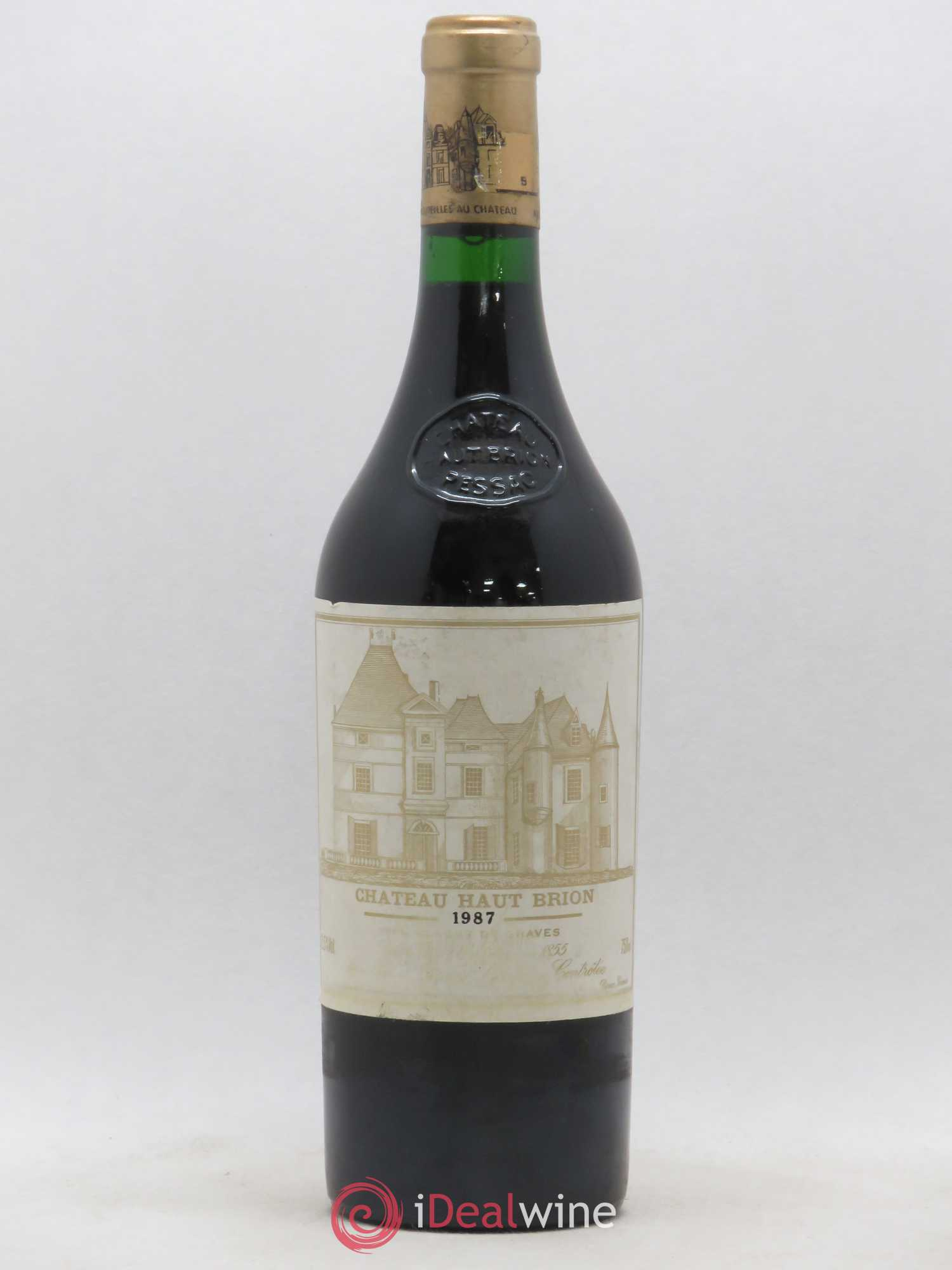 Château Haut Brion 1er Grand Cru Classé  1987 - Lot of 1 Bottle