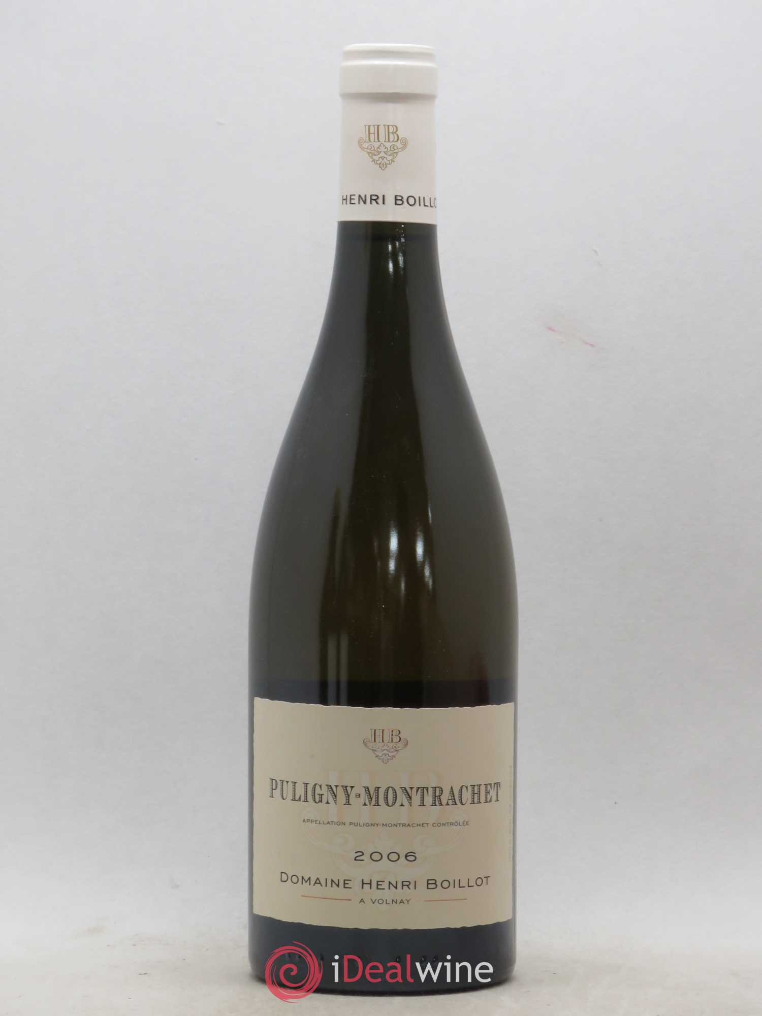 Puligny-Montrachet Henri Boillot (Domaine) (no reserve) 2006 - Lot of 1 Bottle