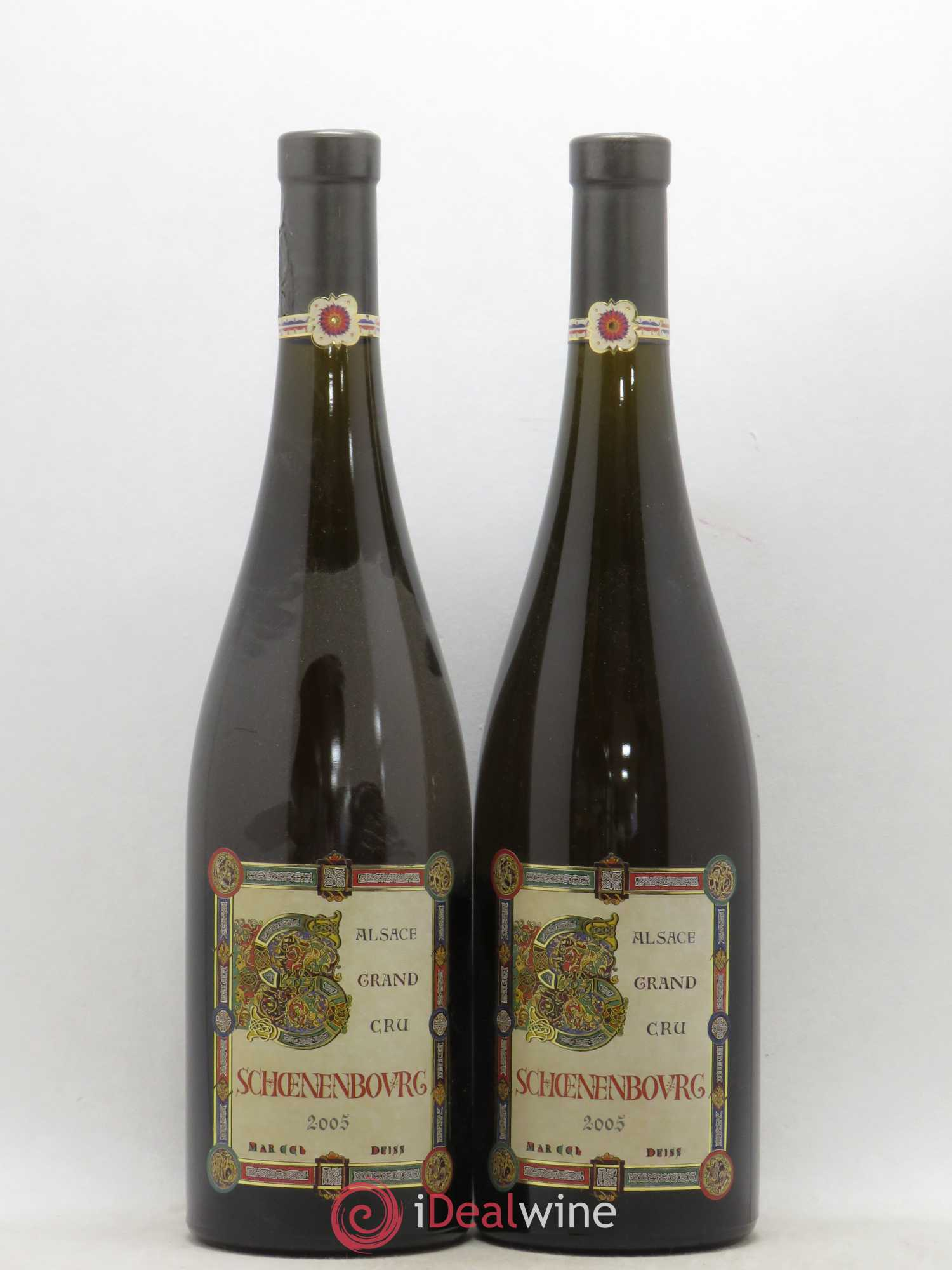 Alsace Grand Cru Schoenenbourg Marcel Deiss (Domaine) (no reserve) 2005 - Lot of 2 Bottles