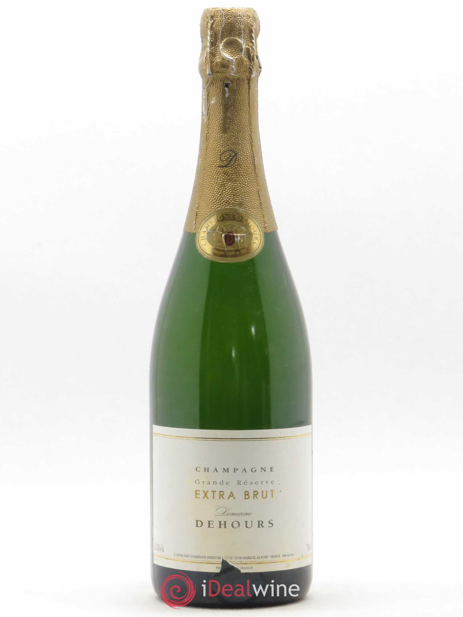 Champagne Grande Reserve Extra Brut Dehours (no reserve)  - Lot of 1 Bottle