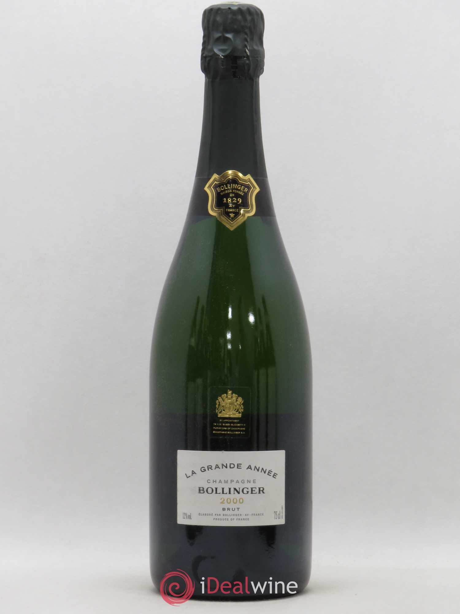 Grande Année Bollinger (no reserve) 2000 - Lot of 1 Bottle