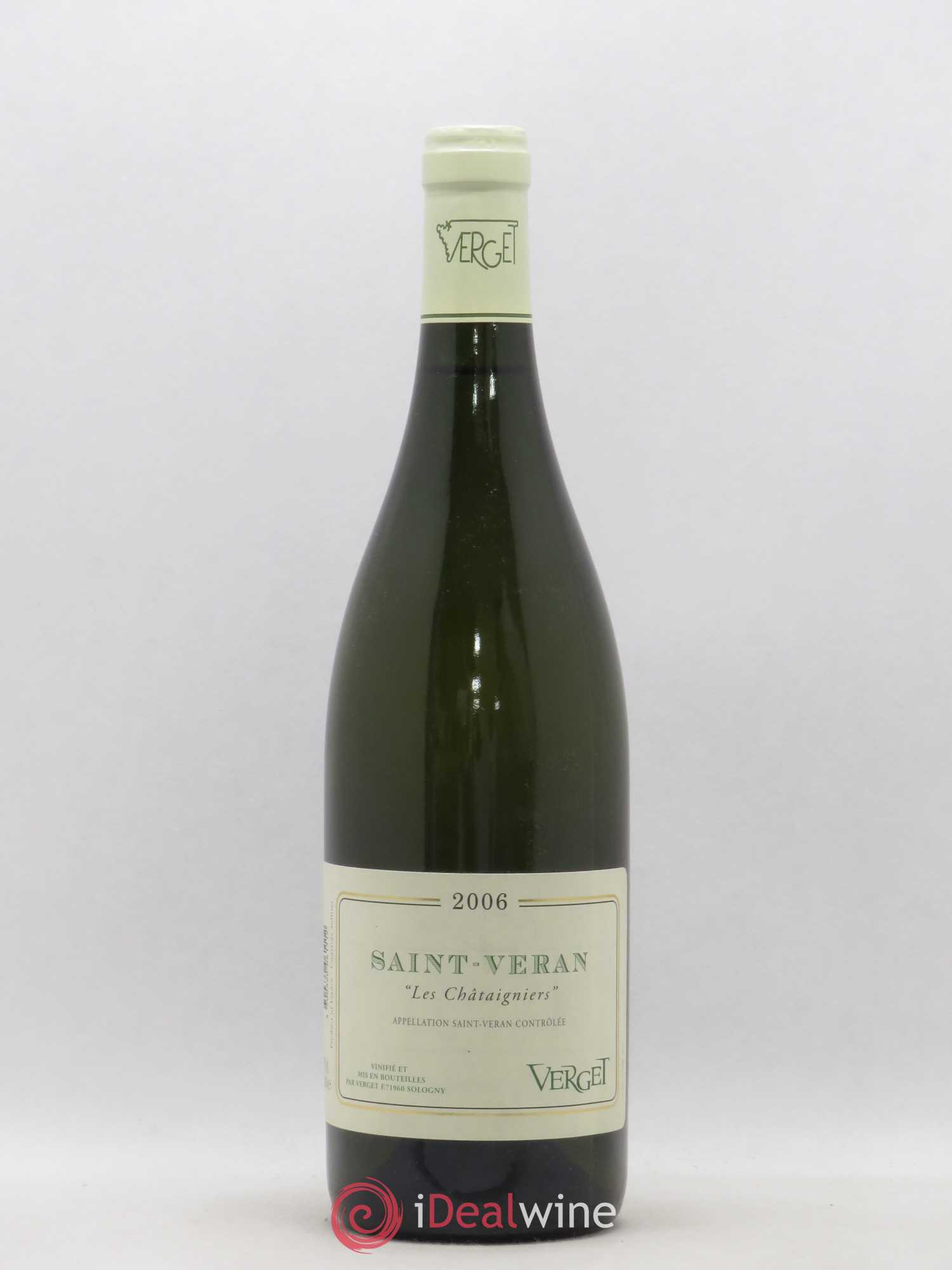 Saint-Véran Les Châtaigniers Verget (no reserve) 2006 - Lot of 1 Bottle
