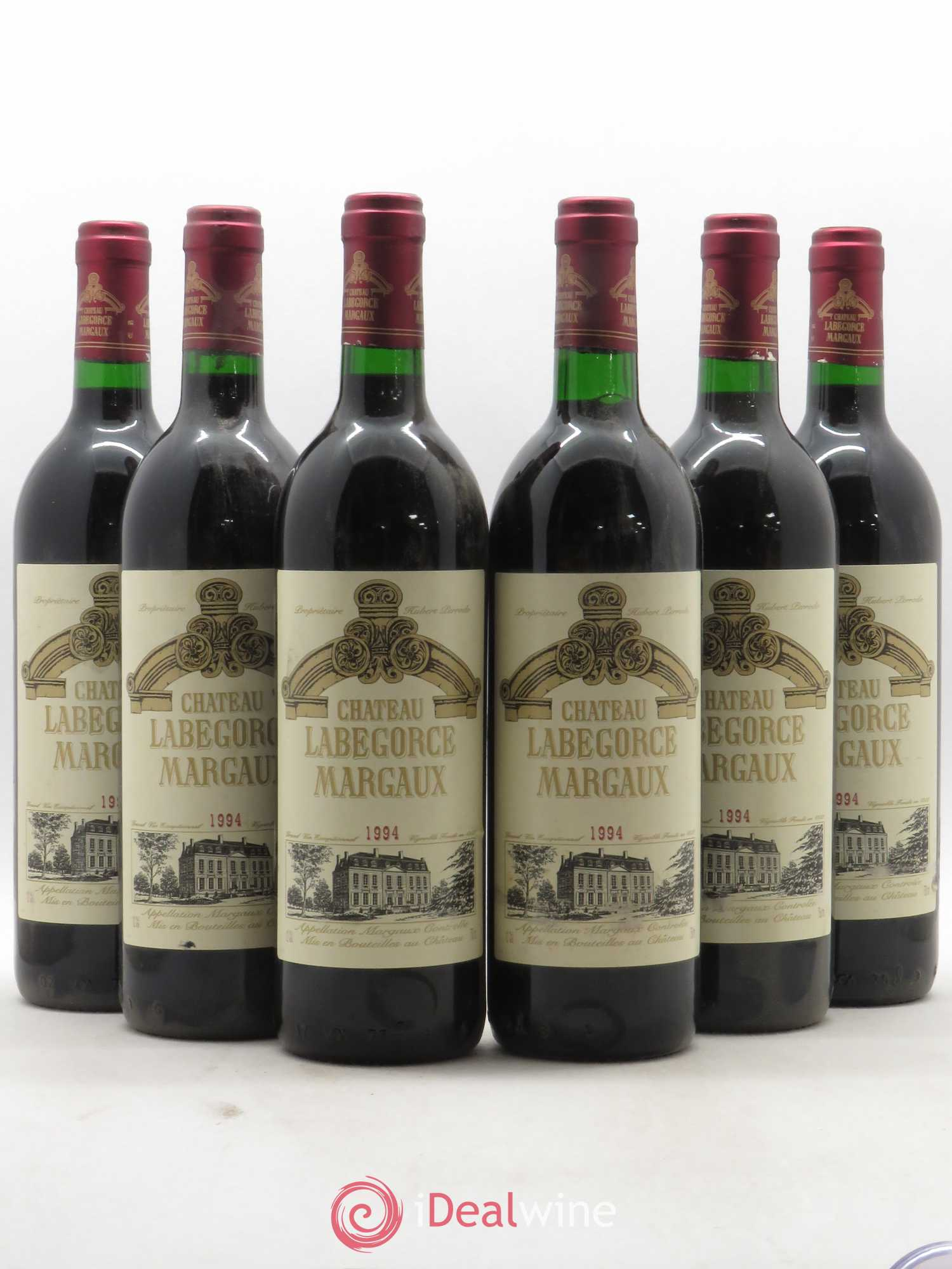 Château Labegorce Cru Bourgeois (no reserve) 1994 - Lot of 6 Bottles