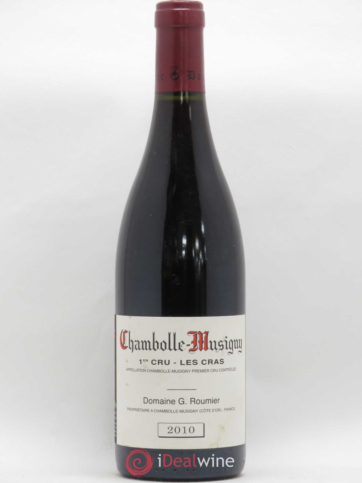 Chambolle-Musigny 1er Cru Les Cras Georges Roumier (Domaine)  2010 - Lot of 1 Bottle