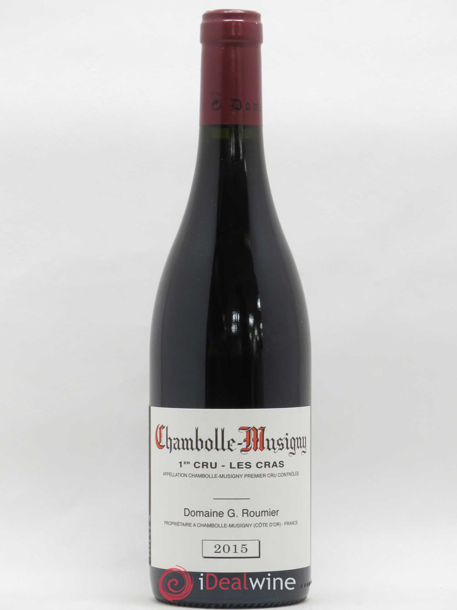 Chambolle-Musigny 1er Cru Les Cras Georges Roumier (Domaine)  2015 - Lot of 1 Bottle