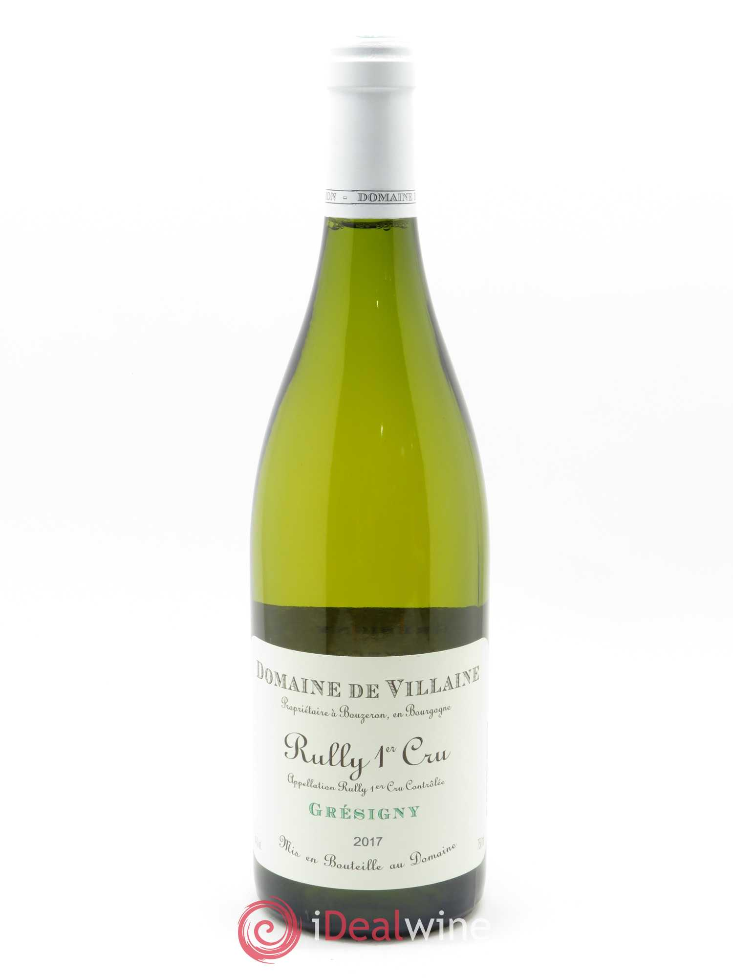 Rully 1er Cru Grésigny A. et P. de Villaine  2017 - Lot of 1 Bottle