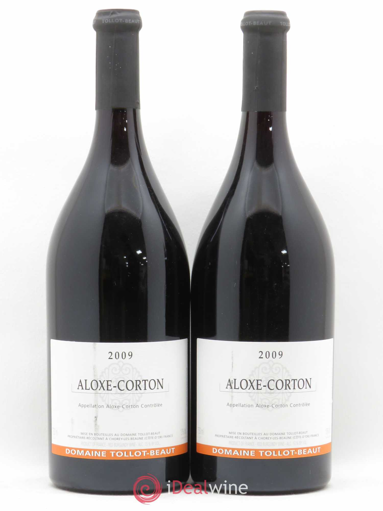 Aloxe-Corton Tollot Beaut (Domaine)  2009 - Lot of 2 Bottles