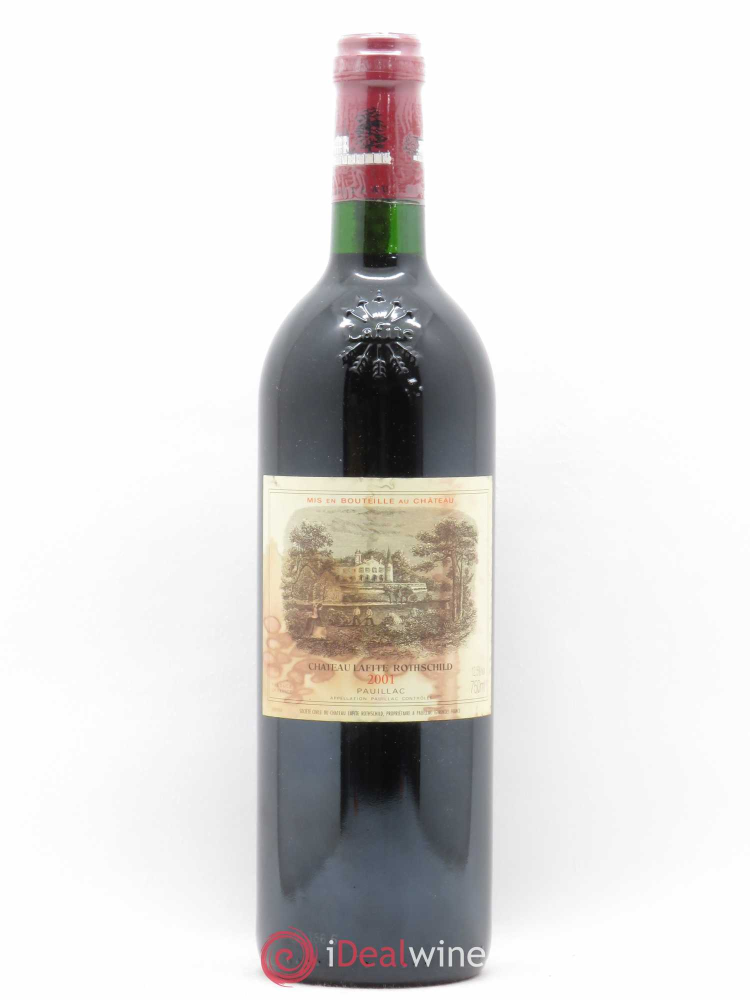 Château Lafite Rothschild 1er Grand Cru Classé  2001 - Lot of 1 Bottle