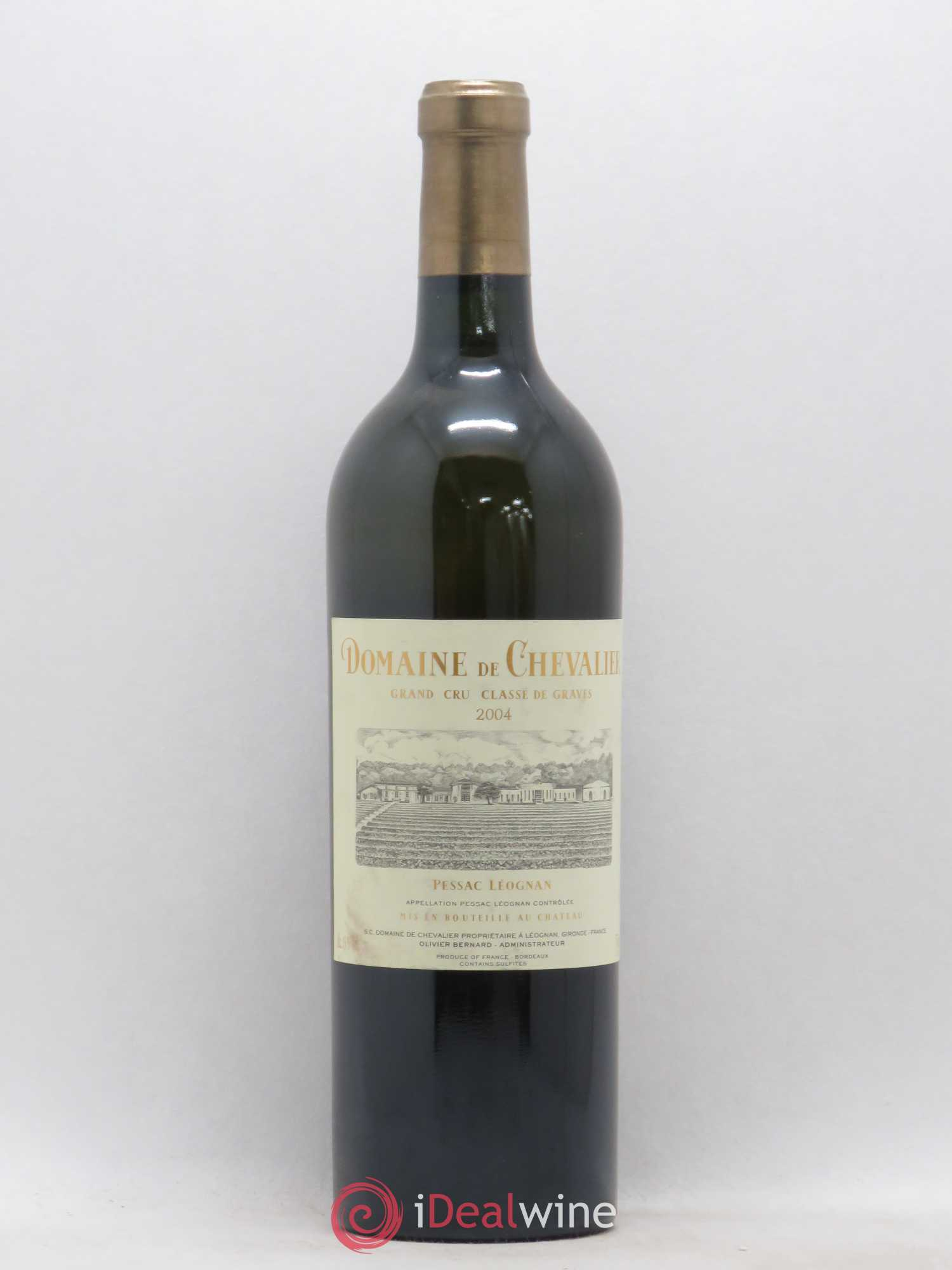 Domaine de Chevalier Cru Classé de Graves  2004 - Lot of 1 Bottle