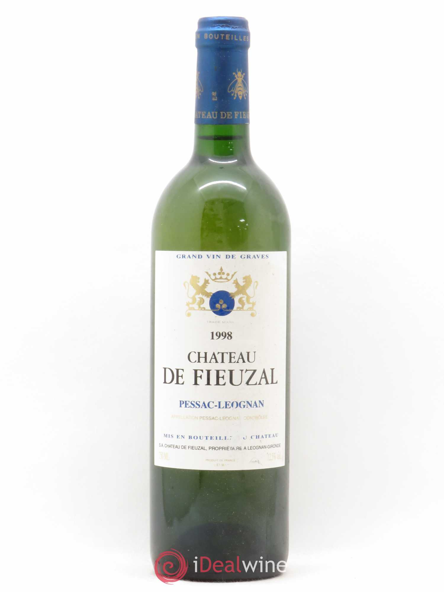 Château de Fieuzal  1998 - Lot of 1 Bottle