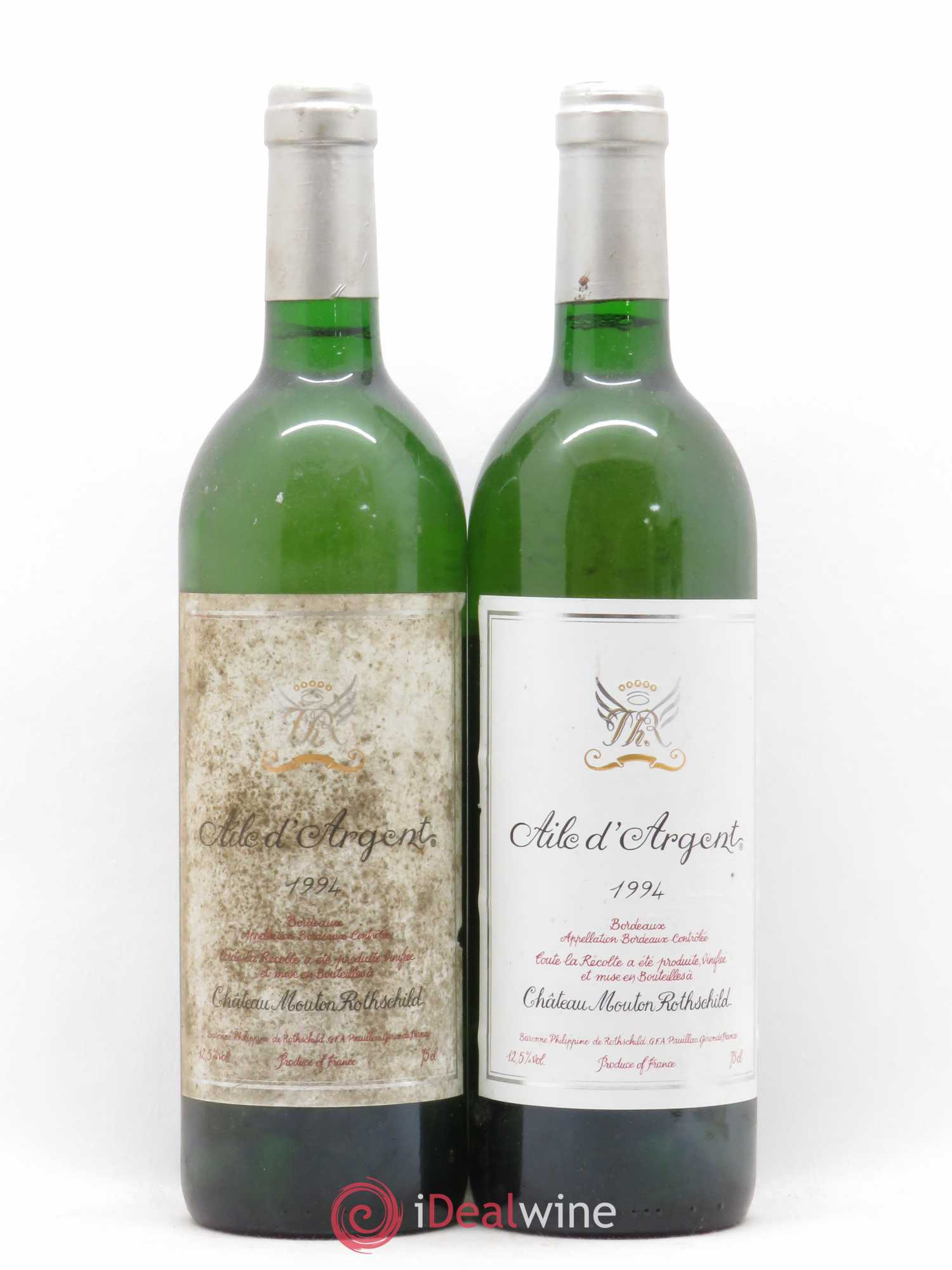 Aile d'Argent  1994 - Lot of 2 Bottles