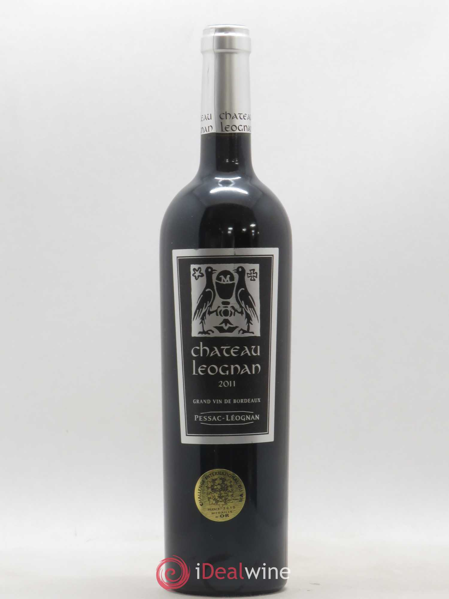 Pessac-Léognan Château Léognan (no reserve) 2011 - Lot of 1 Bottle