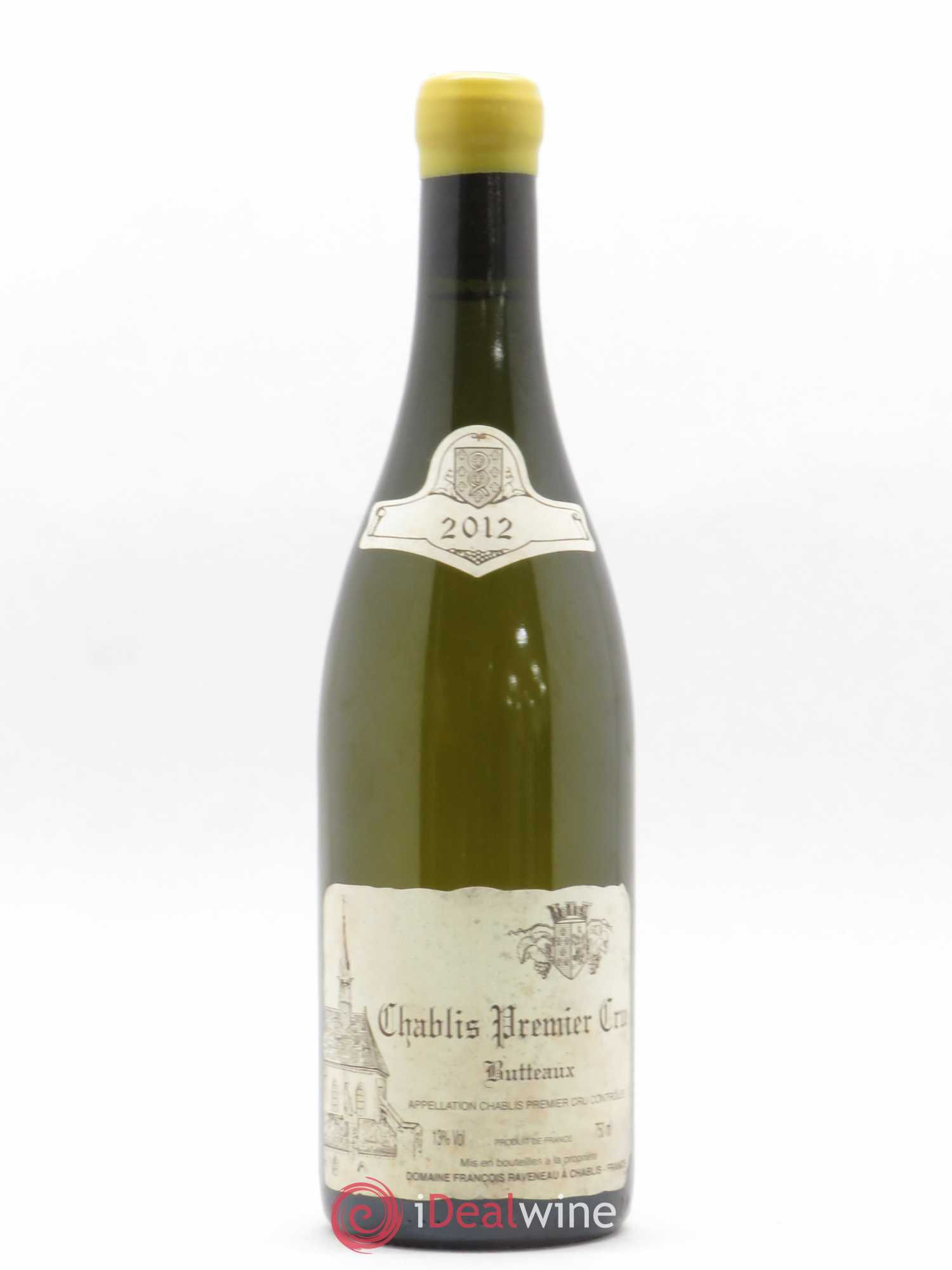 Chablis 1er Cru Butteaux Raveneau (Domaine)  2012 - Lot of 1 Bottle