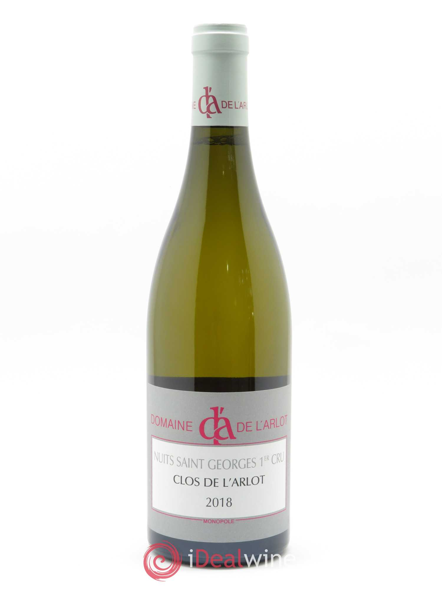 Nuits Saint-Georges 1er Cru Clos de l'Arlot Domaine de l'Arlot  2018 - Lot of 1 Bottle