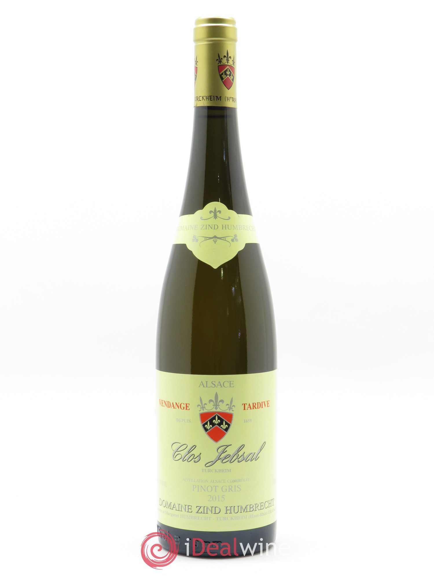 Pinot Gris (Tokay) Clos Jebsal Zind-Humbrecht (Domaine) (OWC if 6) 2015 - Lot of 1 Bottle