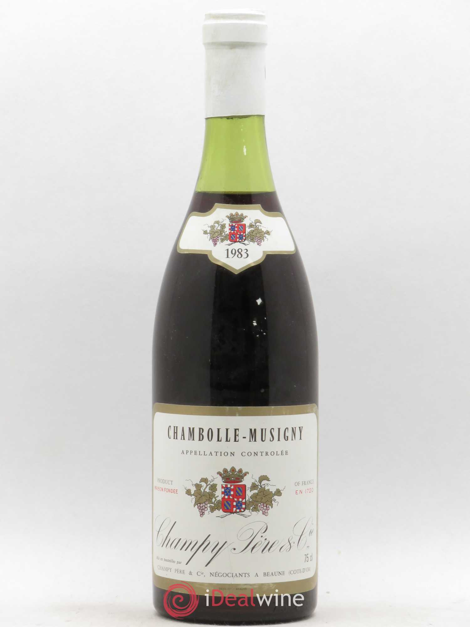 Chambolle-Musigny Champy 1983 - Lot de 1 Bouteille