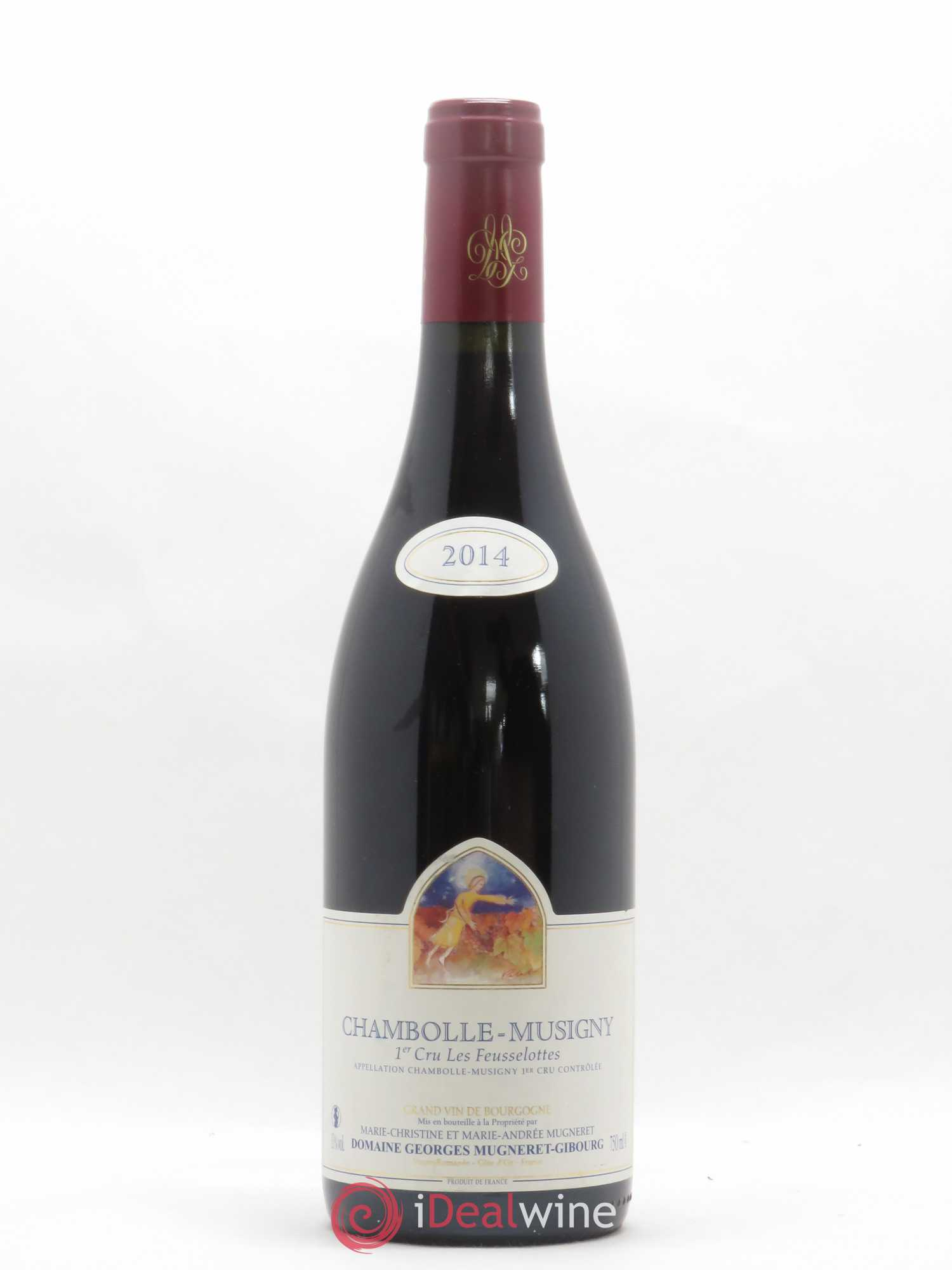 Chambolle-Musigny 1er Cru Les Feusselottes Georges Mugneret-Gibourg (Domaine)  2014 - Lot of 1 Bottle