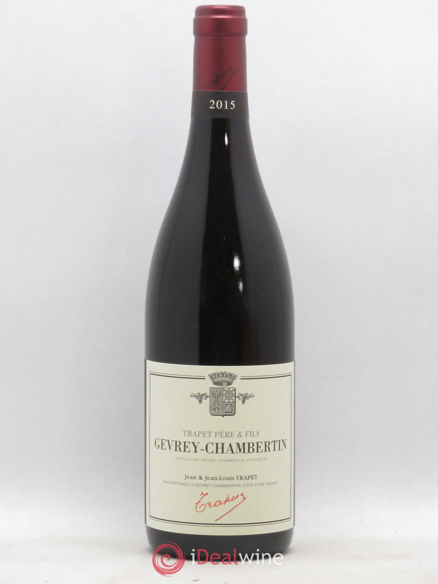 Gevrey-Chambertin Jean et Jean-Louis Trapet  2015 - Lot of 1 Bottle