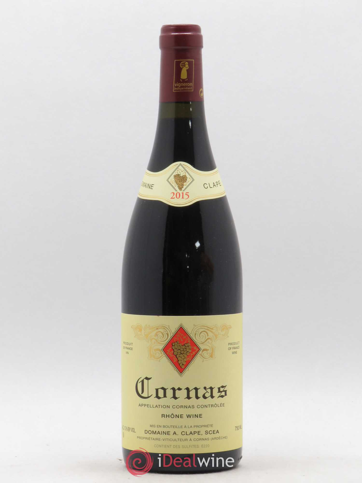 Cornas Auguste Clape  2015 - Lot of 1 Bottle