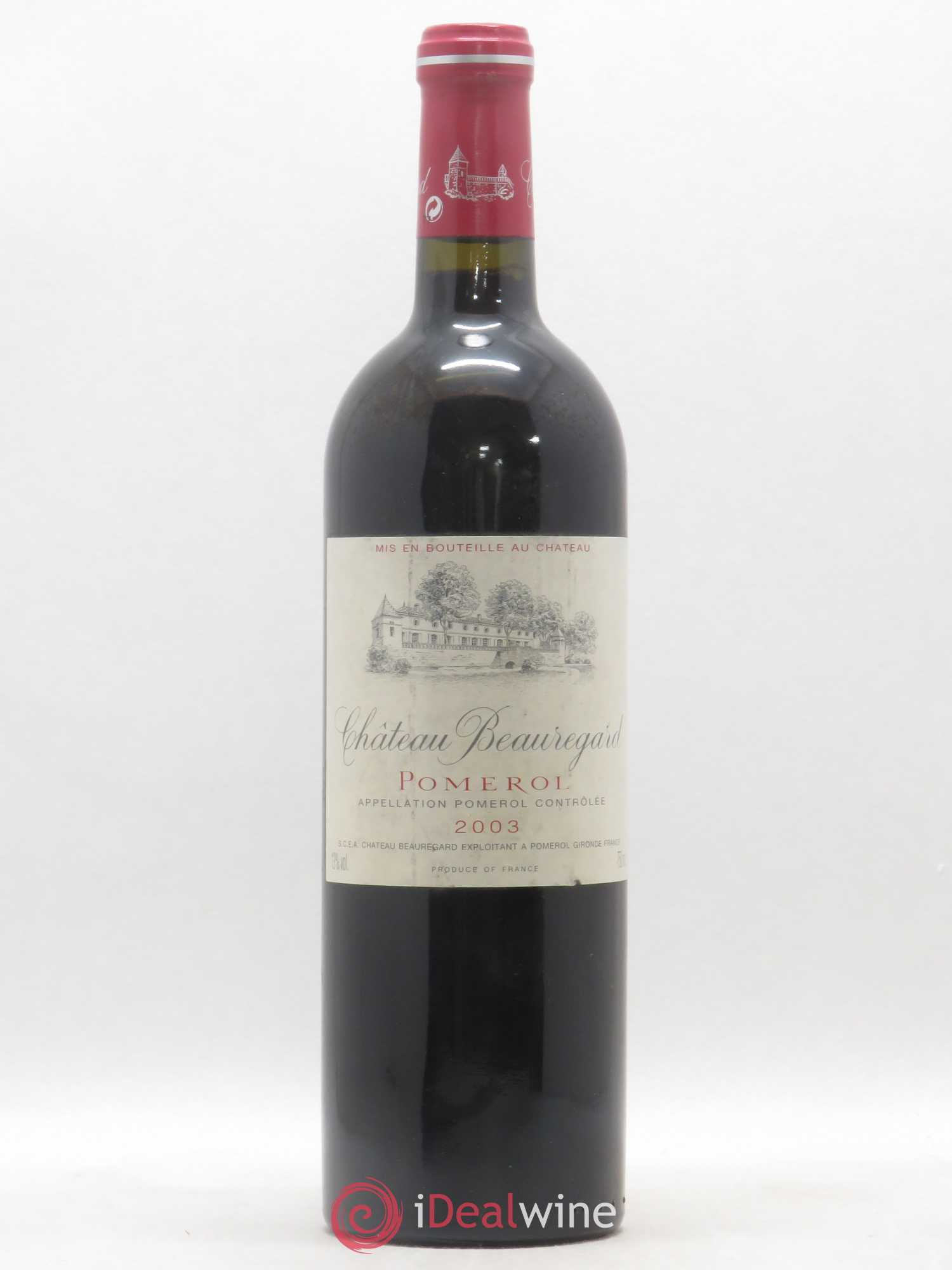 Château Beauregard  2003 - Lot of 1 Bottle