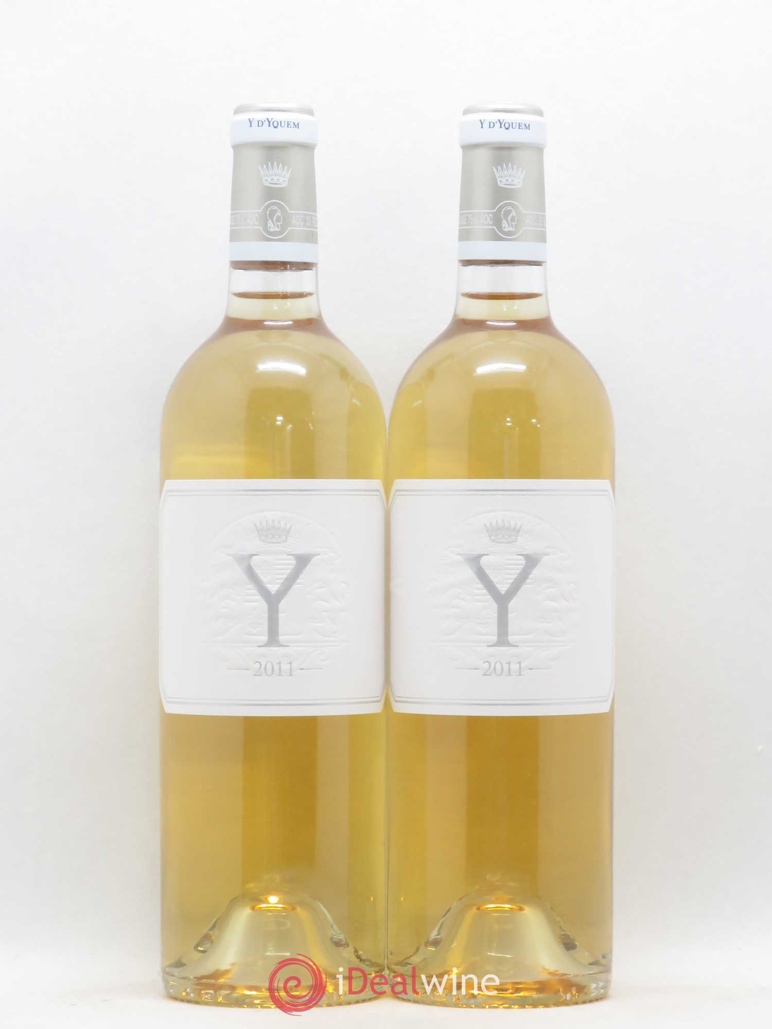 Y de Yquem  2011 - Lot of 2 Bottles