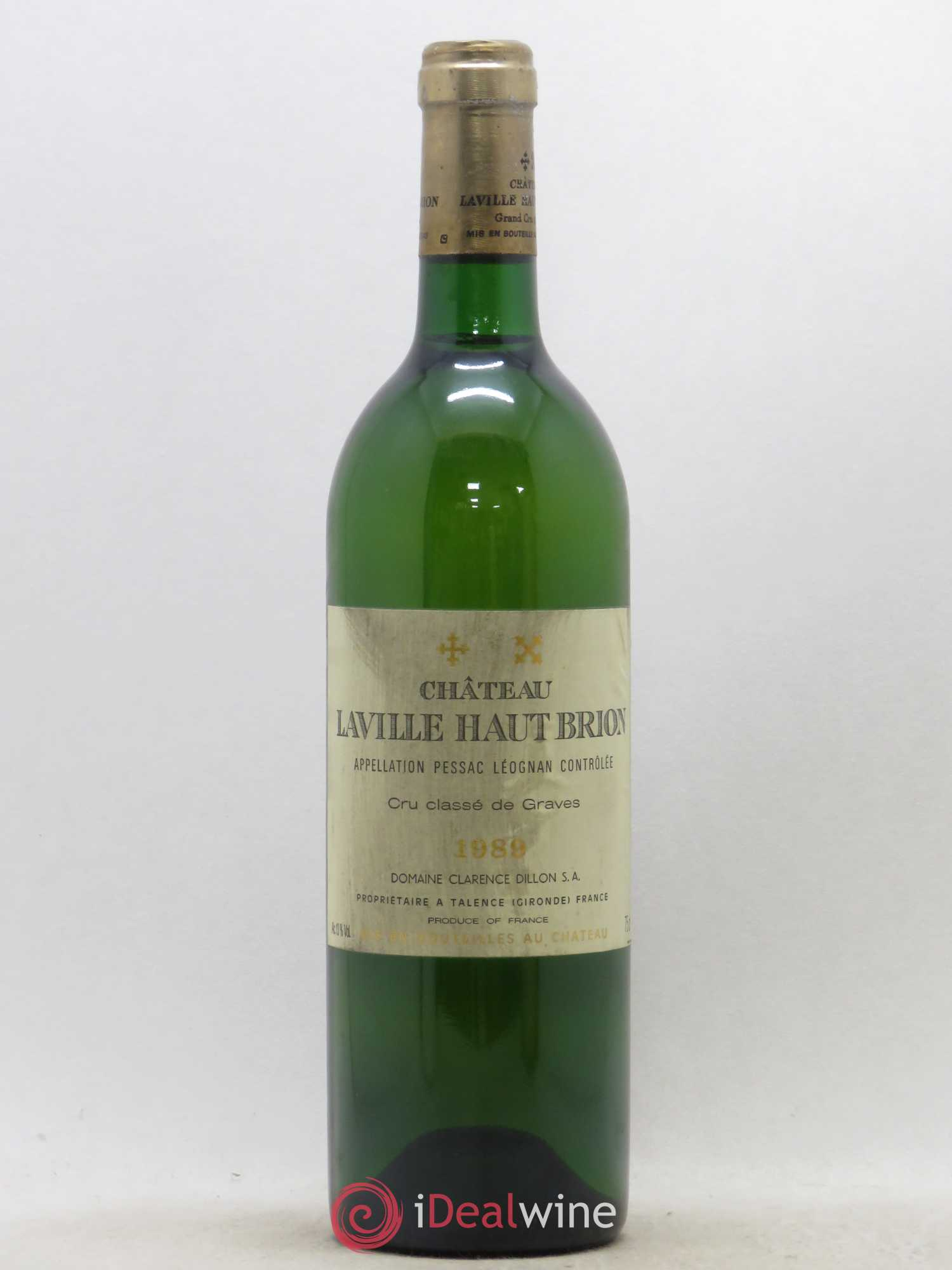 Château Laville Haut-Brion Cru Classé de Graves  1989 - Lot of 1 Bottle