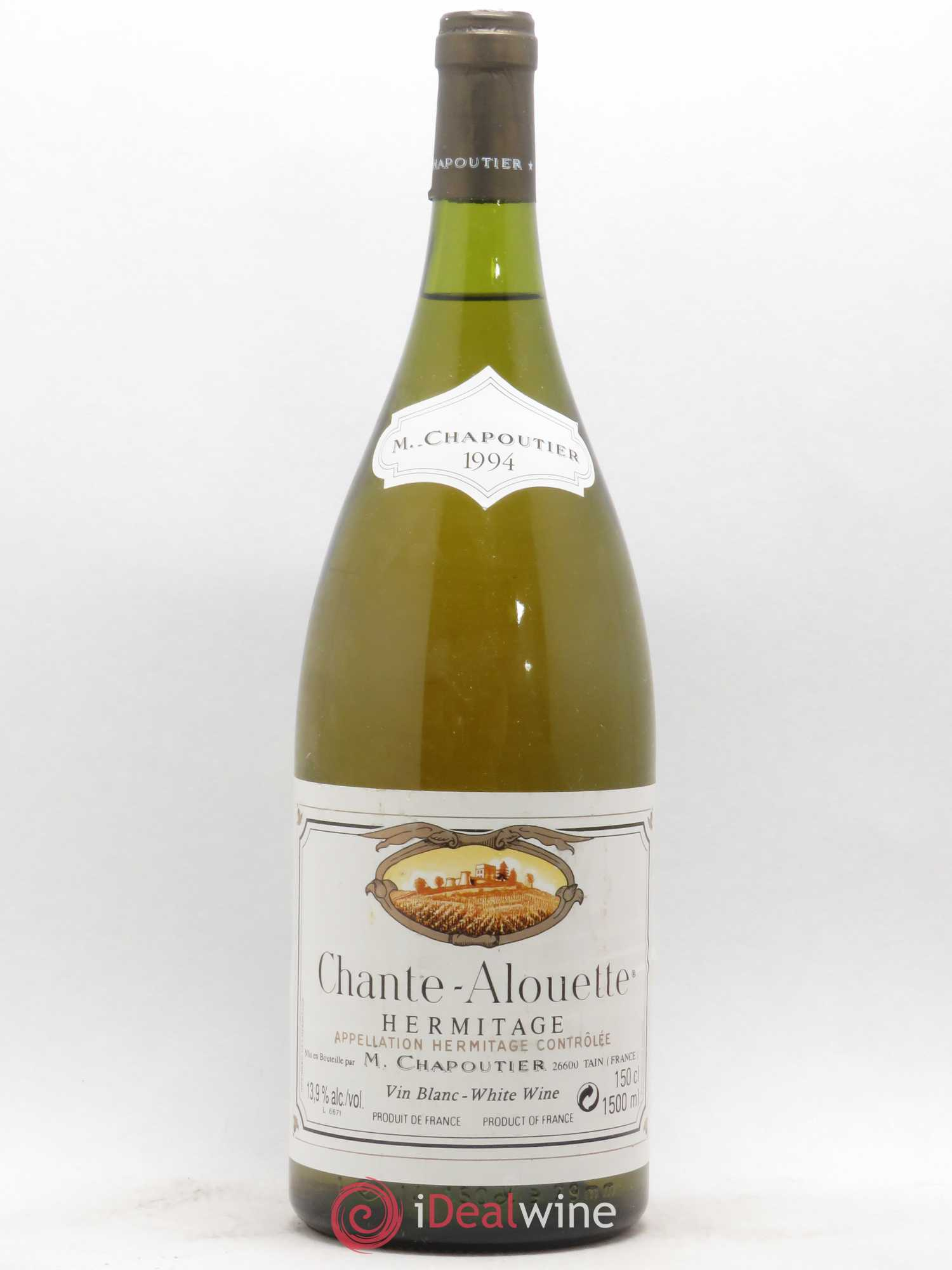 Hermitage Chante Alouette Chapoutier  1994 - Lot of 1 Magnum