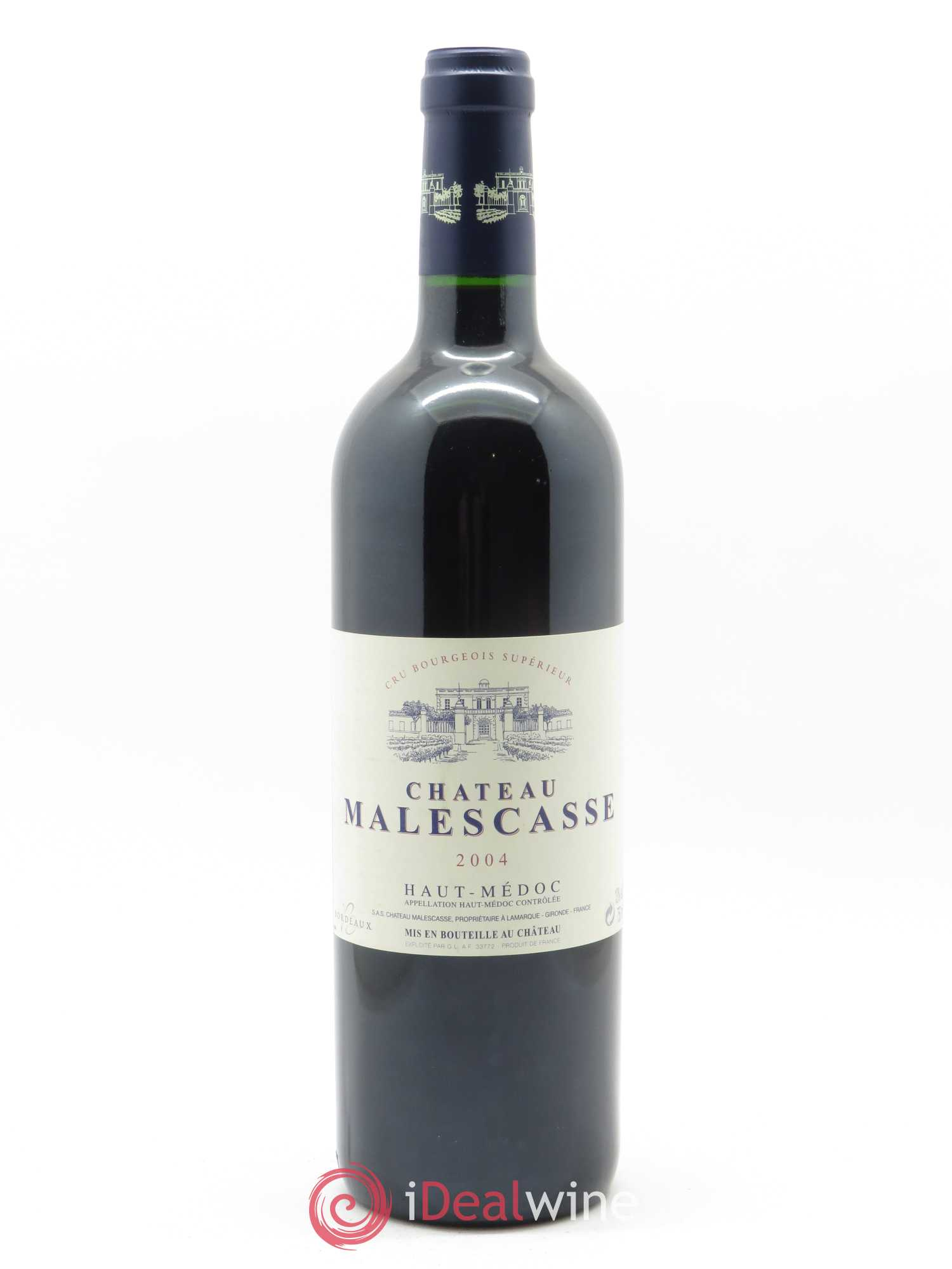 Château Malescasse Cru Bourgeois Exceptionnel  2004 - Lot of 1 Bottle